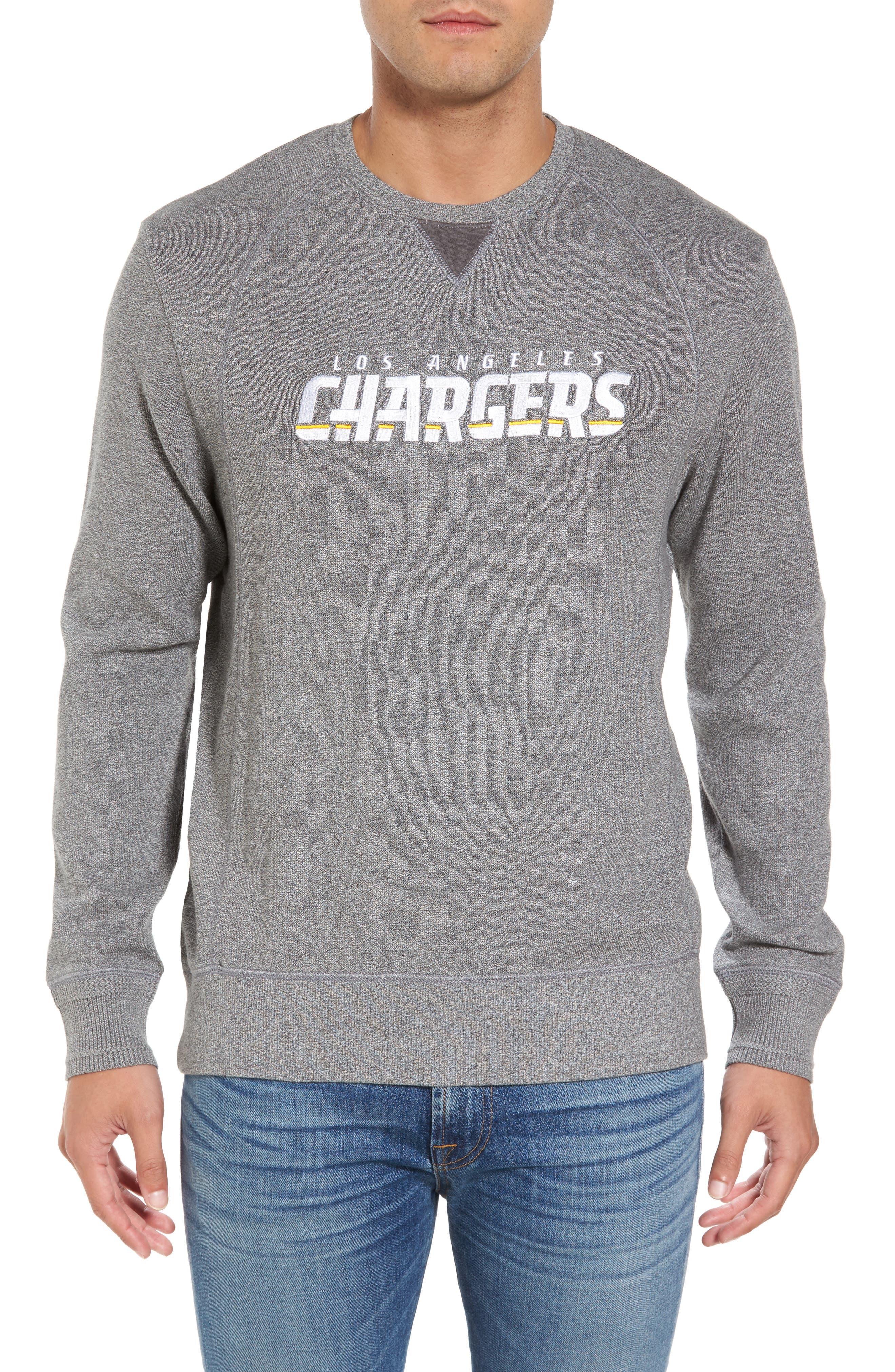 NFL Stitch of Liberty Embroidered Crewneck Sweatshirt,                             Main thumbnail 9, color,