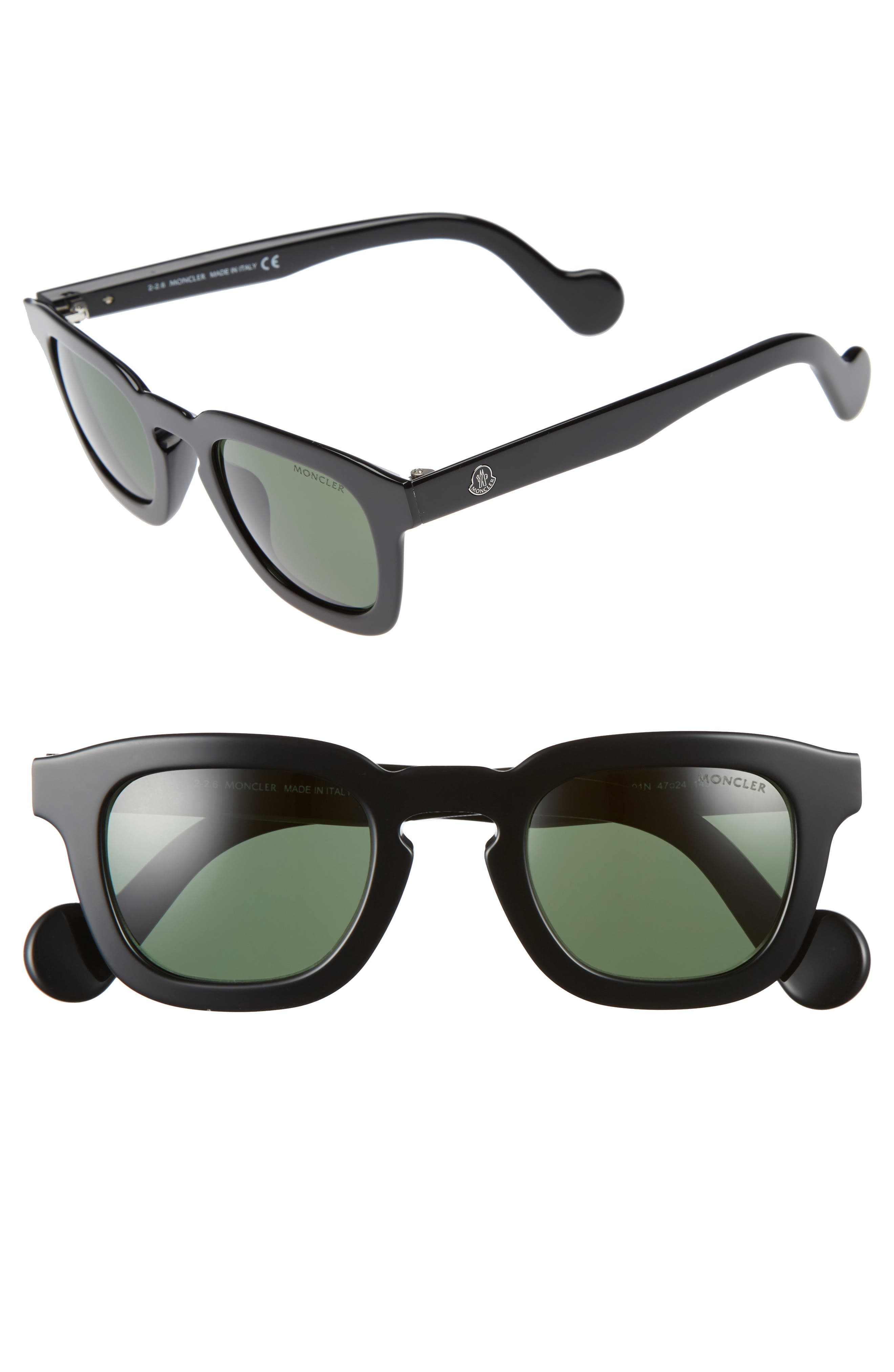 47mm Sunglasses,                         Main,                         color, 001