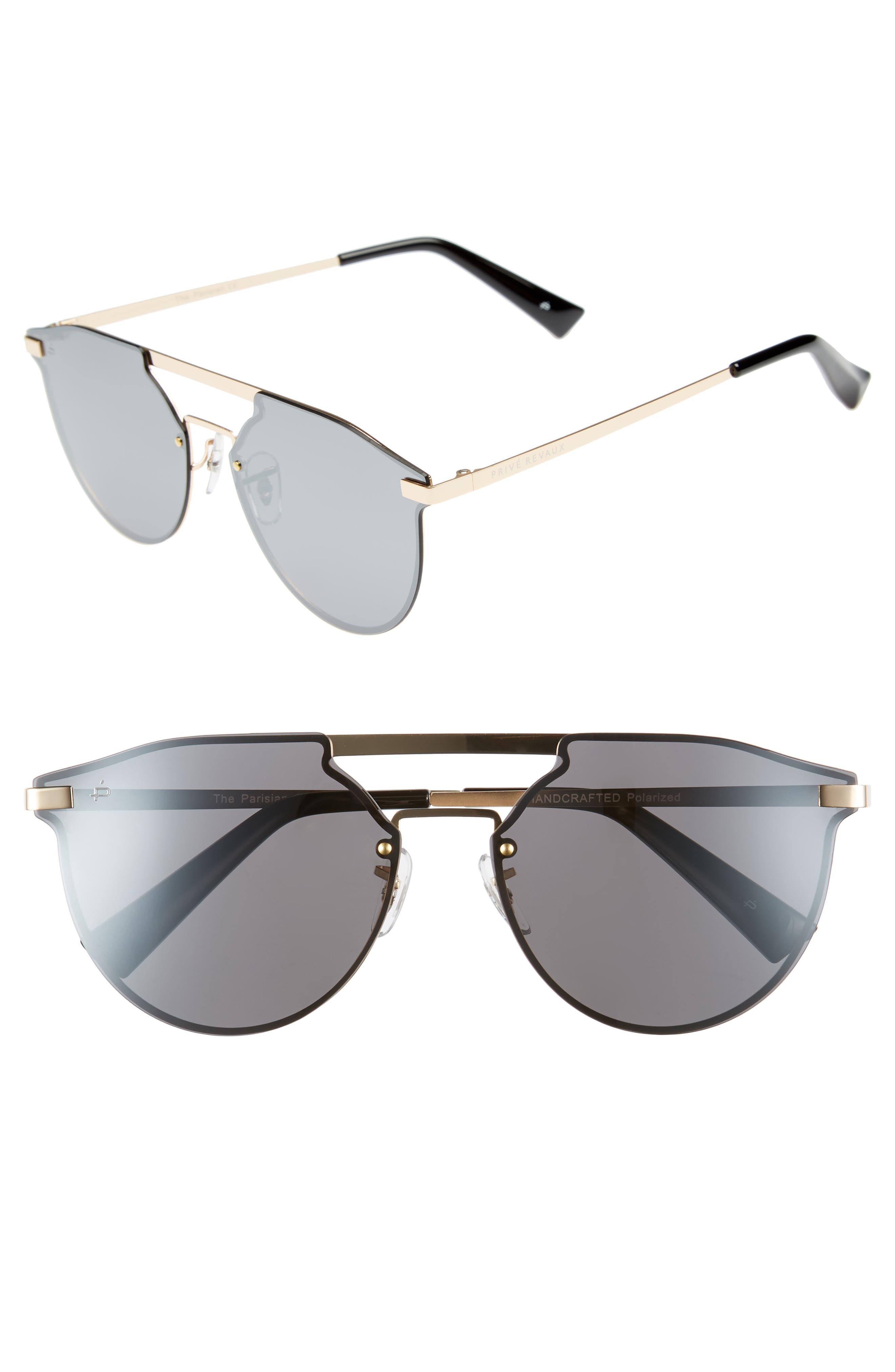 Privé Revaux The Parisian 62mm Aviator Sunglasses,                         Main,                         color, 040