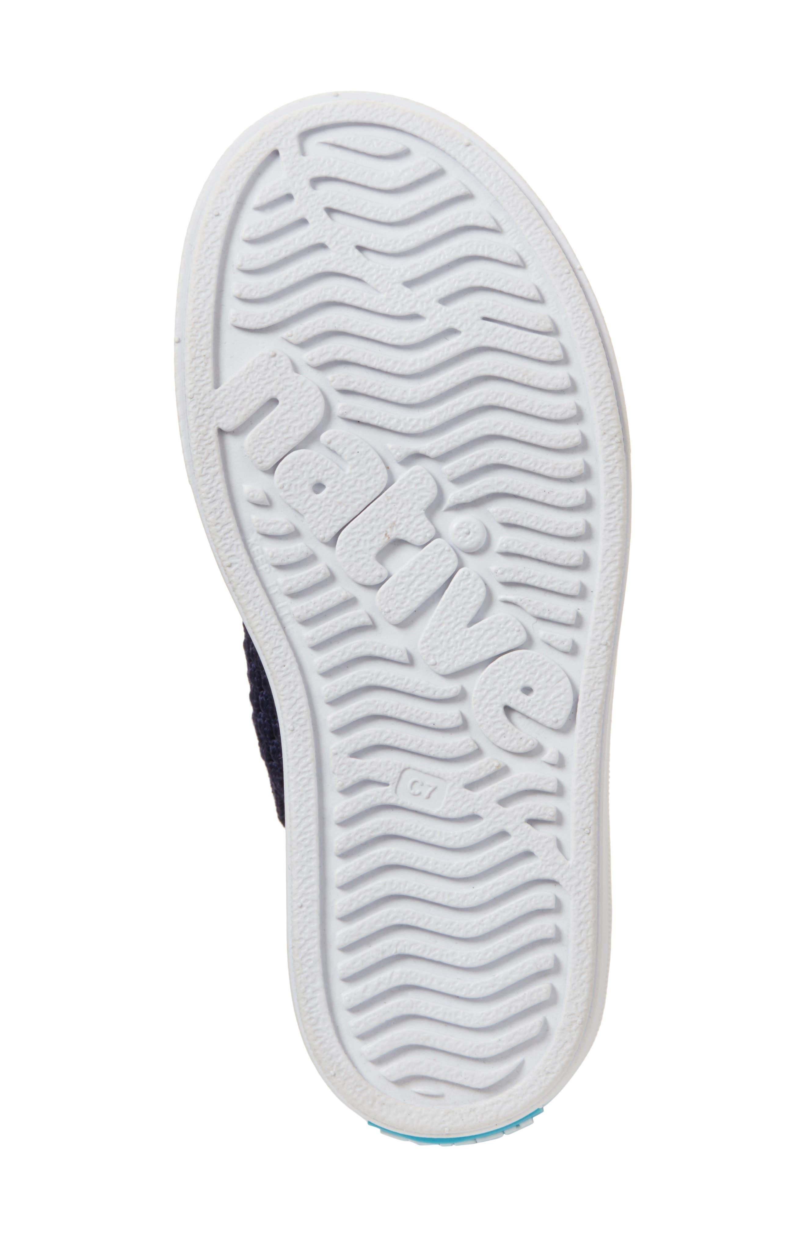 Native Jefferson 2.0 LiteKnit Sneaker,                             Alternate thumbnail 6, color,                             REGATTA BLUE/ SHELL WHITE