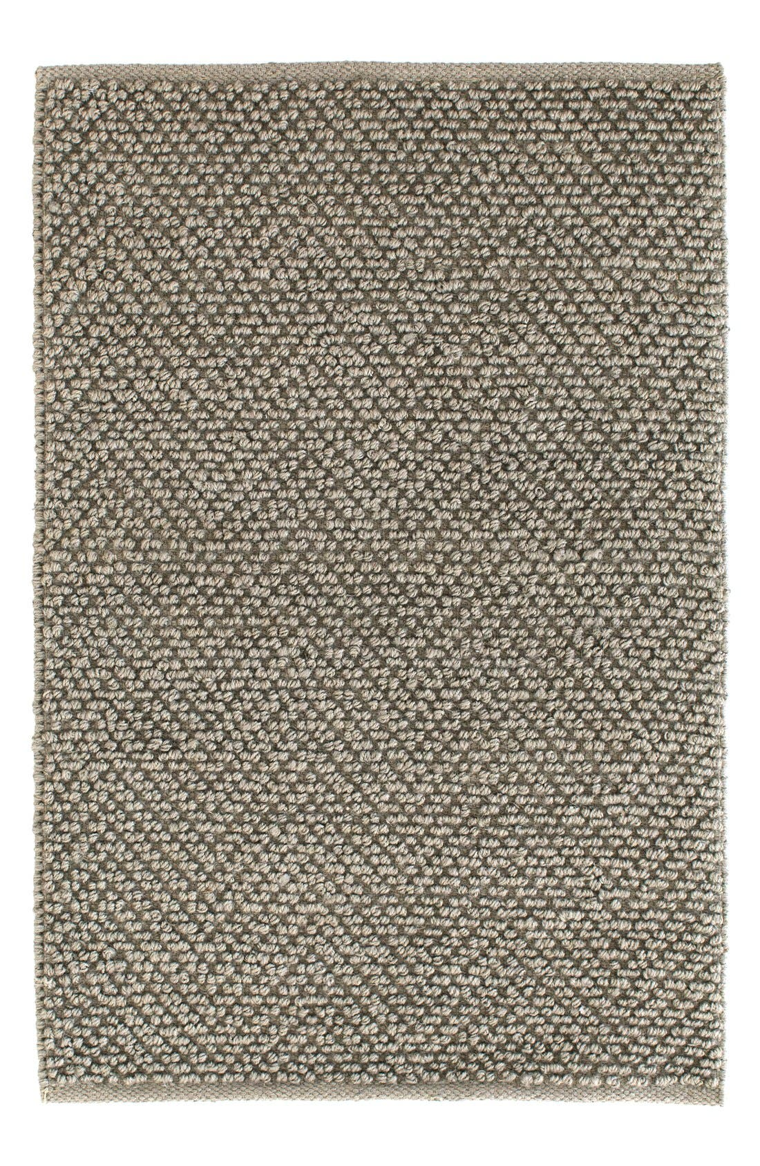 Woven Jute & Cotton Rug,                             Main thumbnail 1, color,                             SILVER OAK