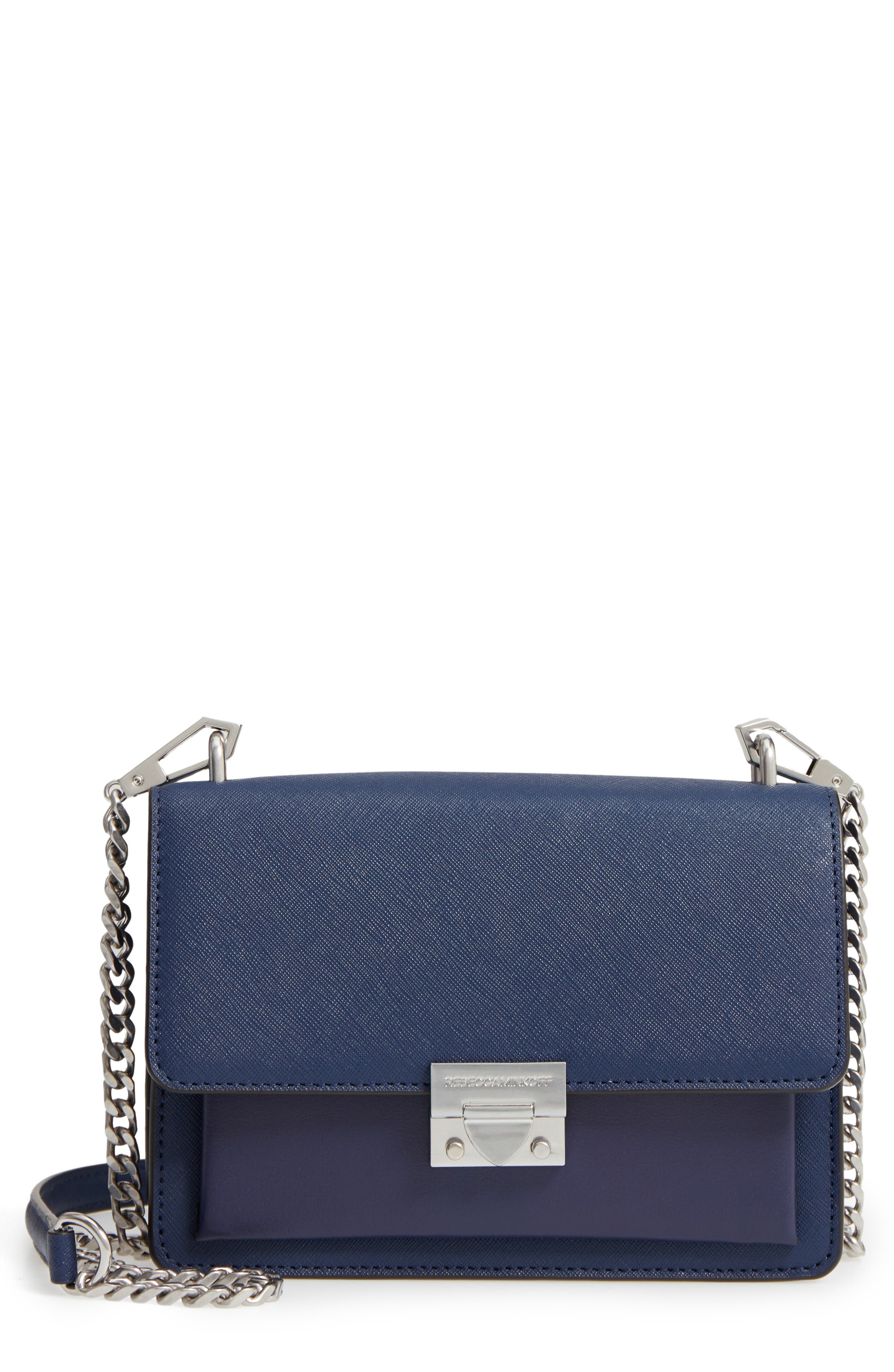 Medium Christy Leather Shoulder Bag,                             Main thumbnail 3, color,