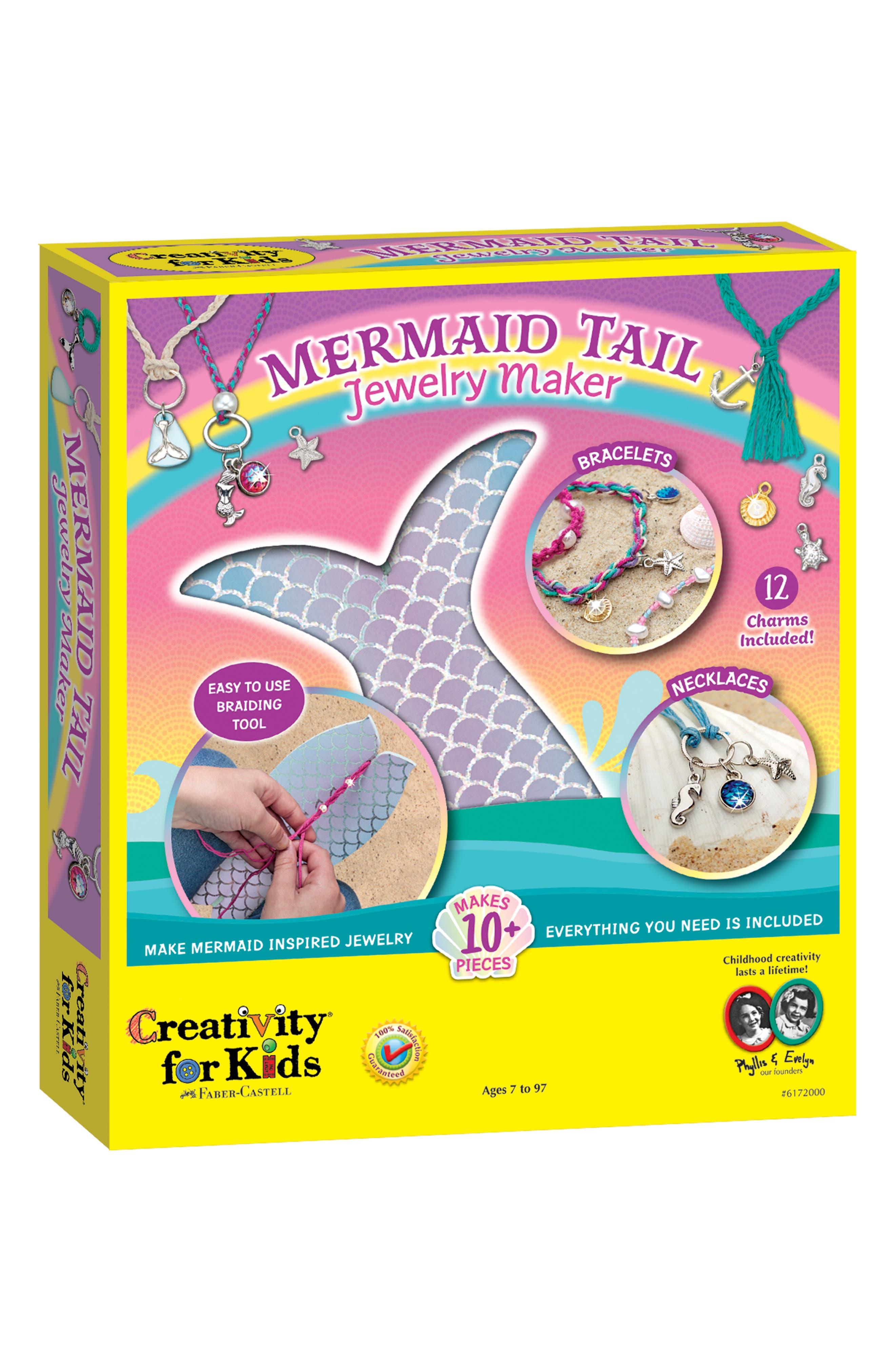 Mermaid Tail Jewelry Maker,                             Main thumbnail 1, color,                             450