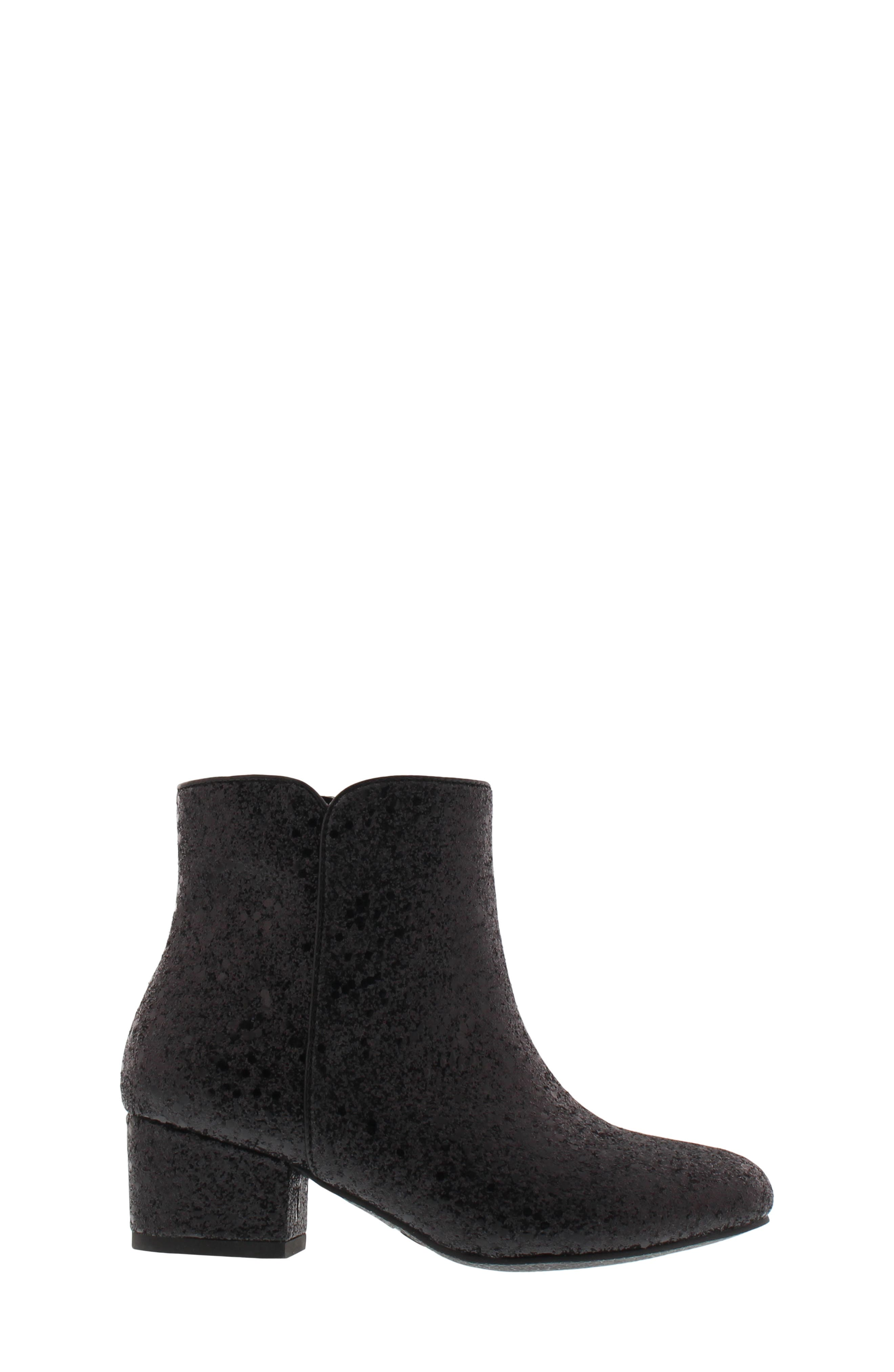 Evelyn Cosmos Bootie,                             Alternate thumbnail 3, color,                             BLACK