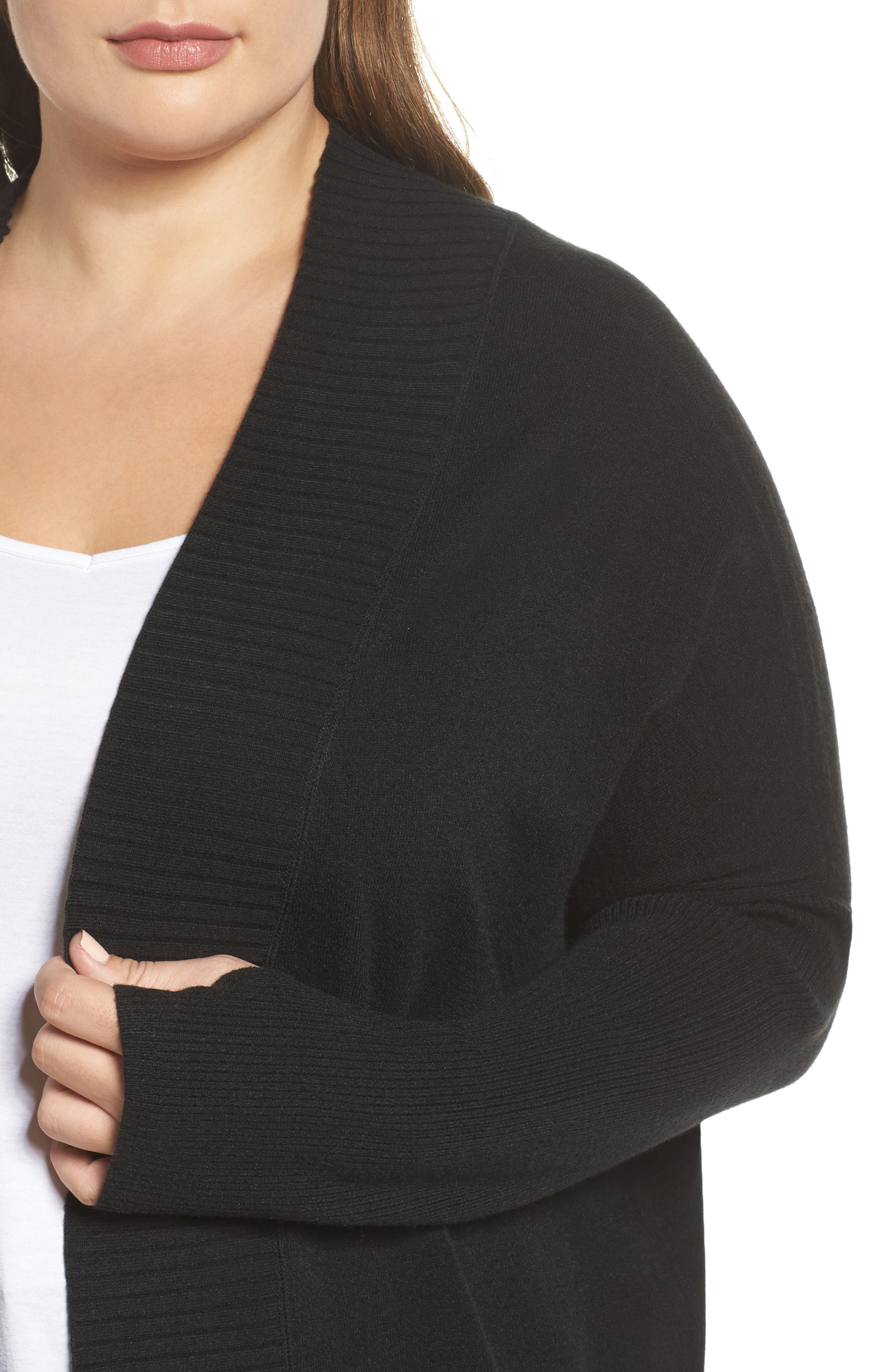 Off-Duty Long Open Front Cardigan,                             Alternate thumbnail 10, color,