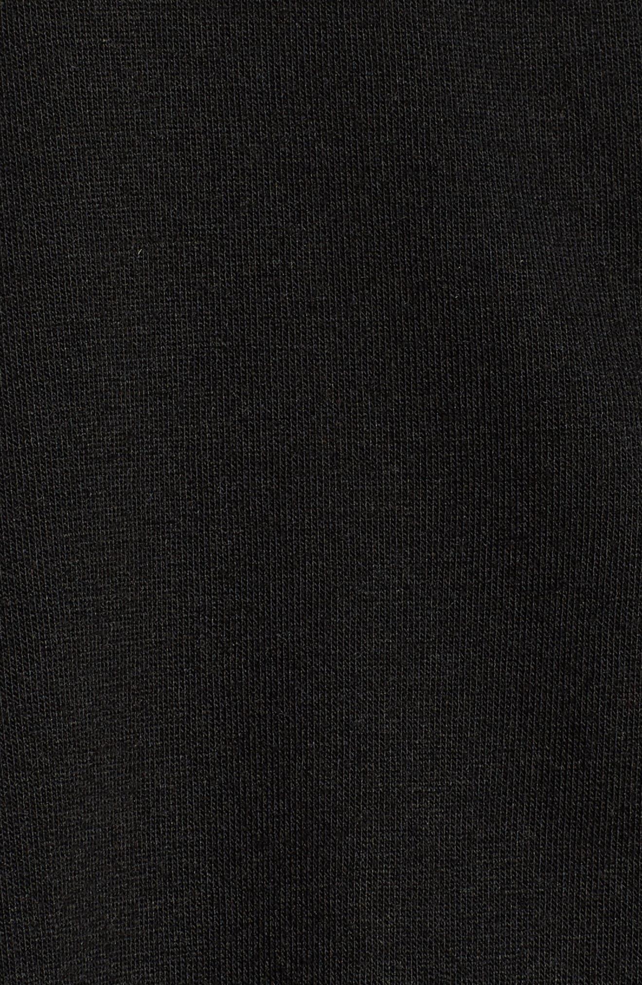 Shangri La Notch Collar Pajamas,                             Alternate thumbnail 5, color,                             001