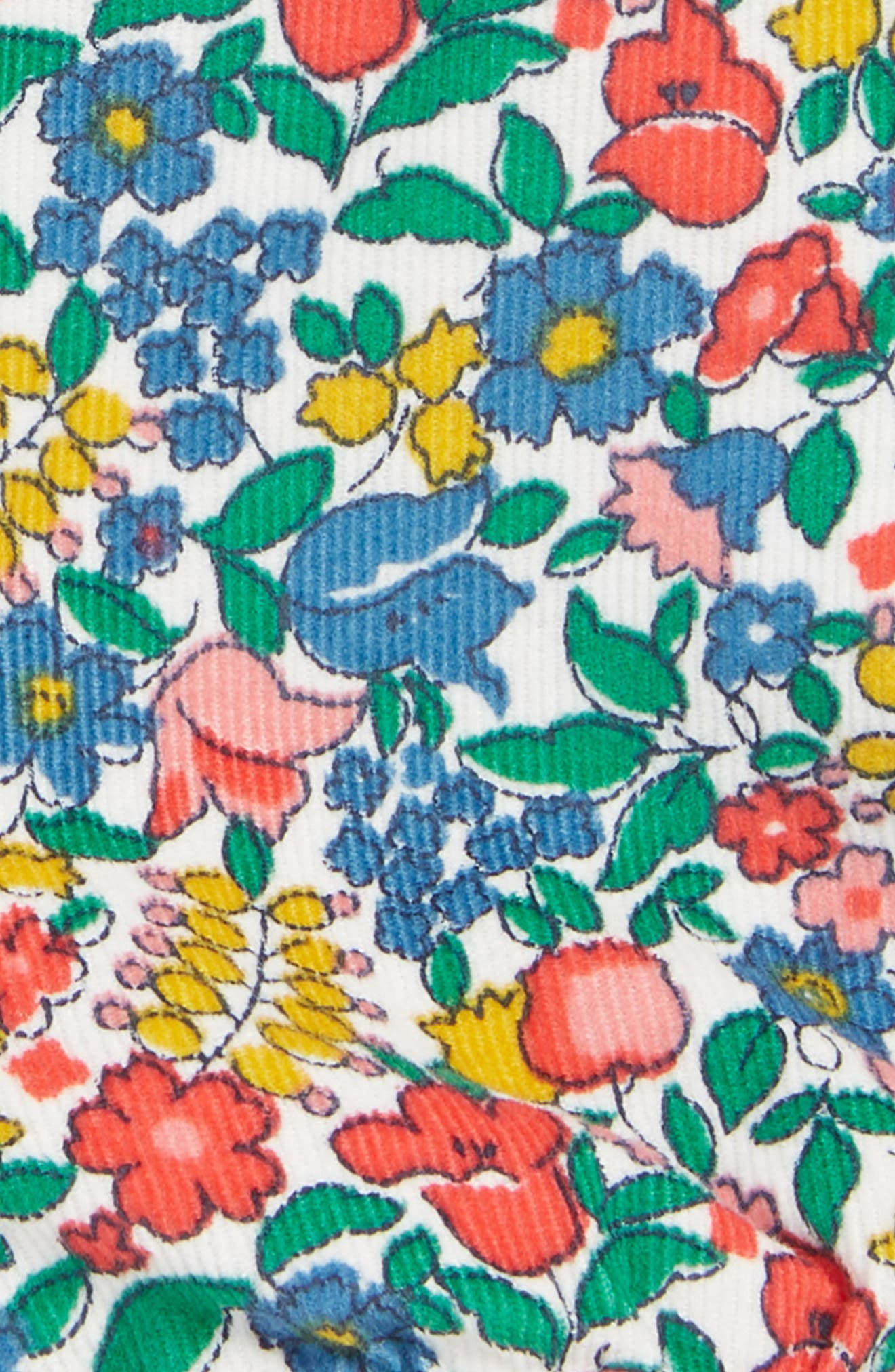 Floral Bloomer Shorts,                             Alternate thumbnail 3, color,                             FLOWERBED
