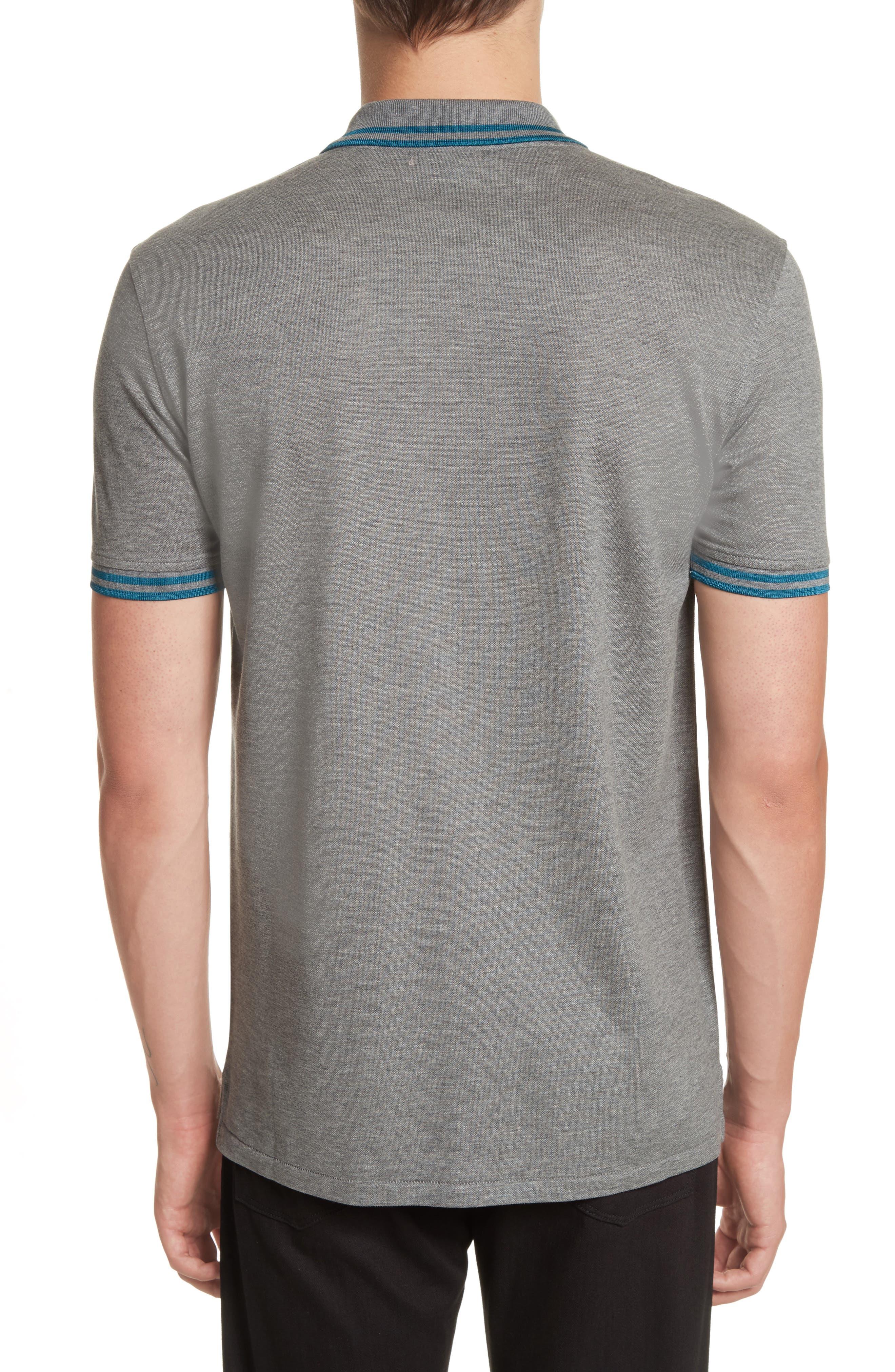 Tipped Logo Polo,                             Alternate thumbnail 5, color,