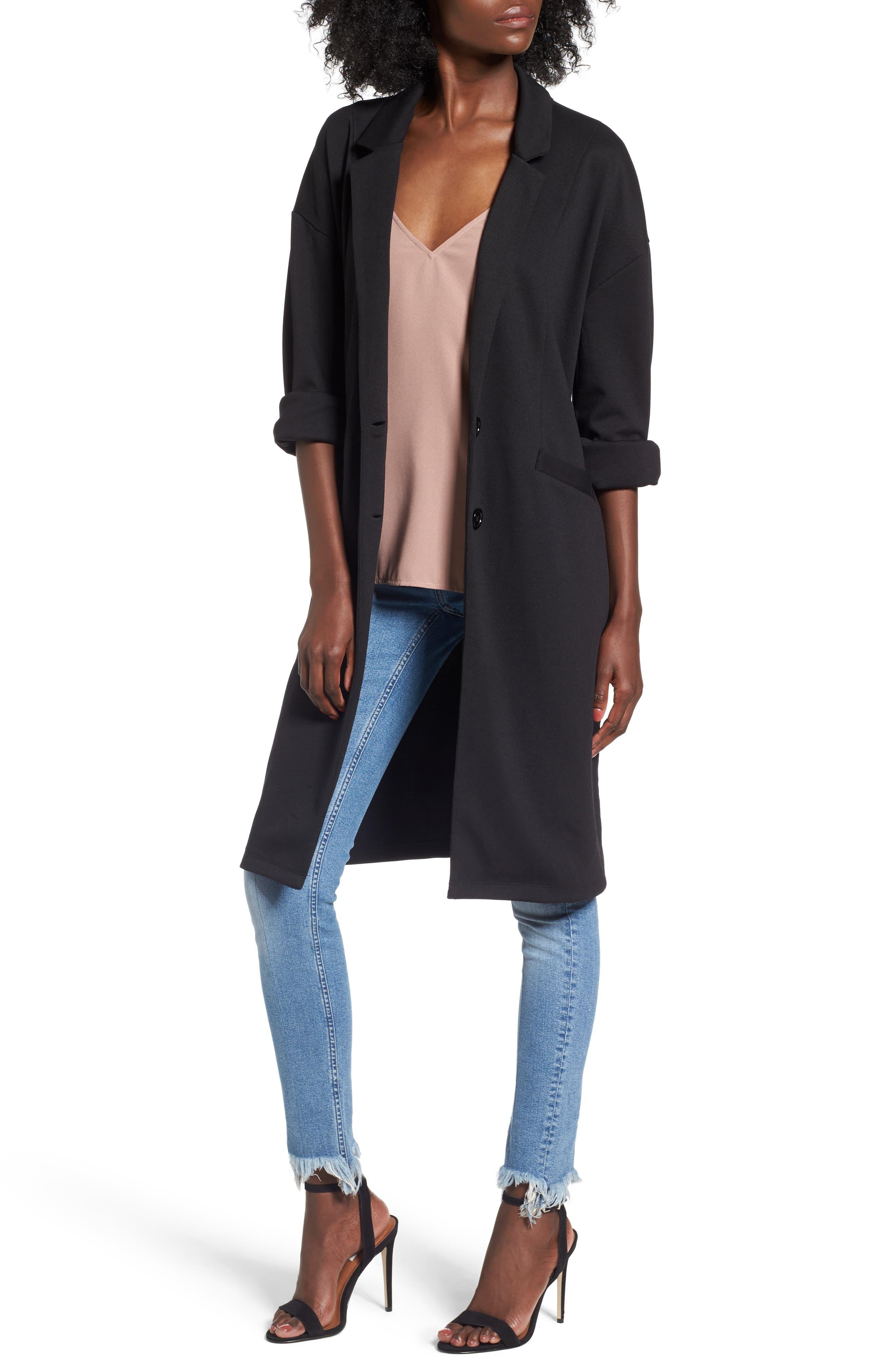 Longline Jacket,                         Main,                         color, 001