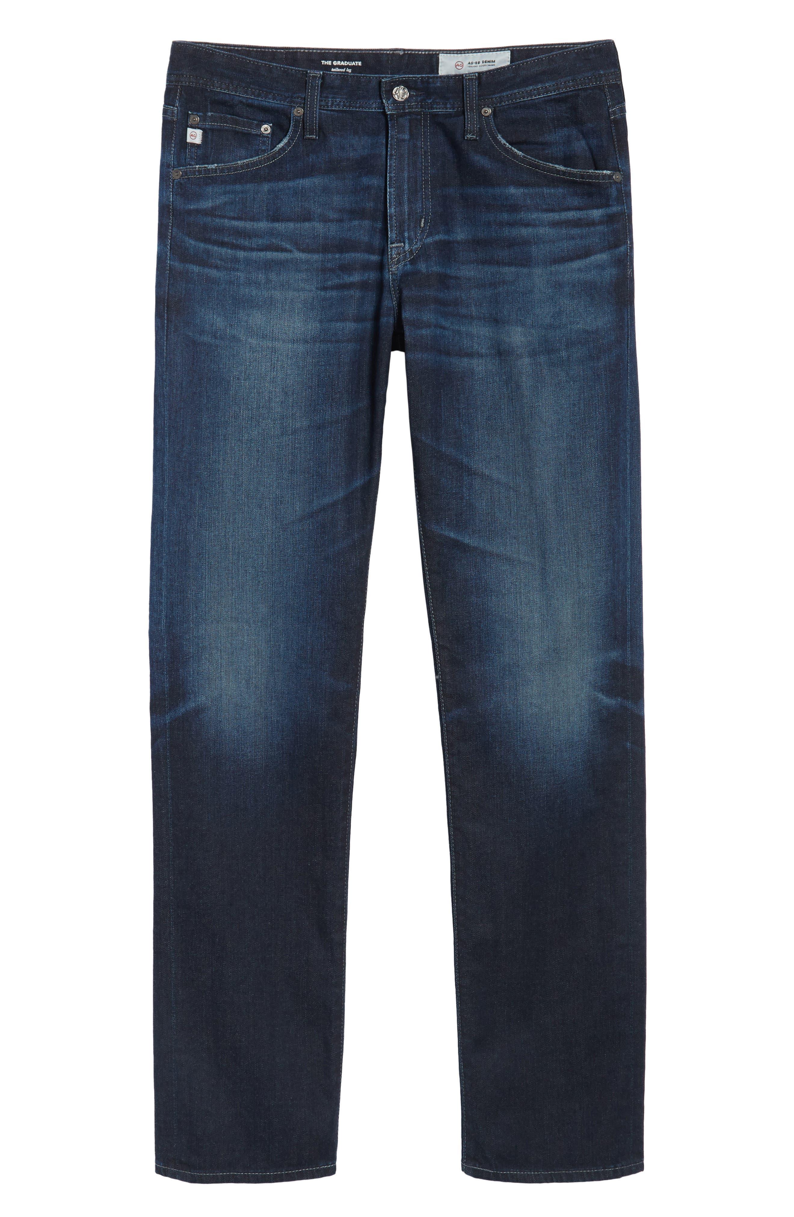 Graduate Slim Straight Fit Jeans,                             Alternate thumbnail 6, color,                             482