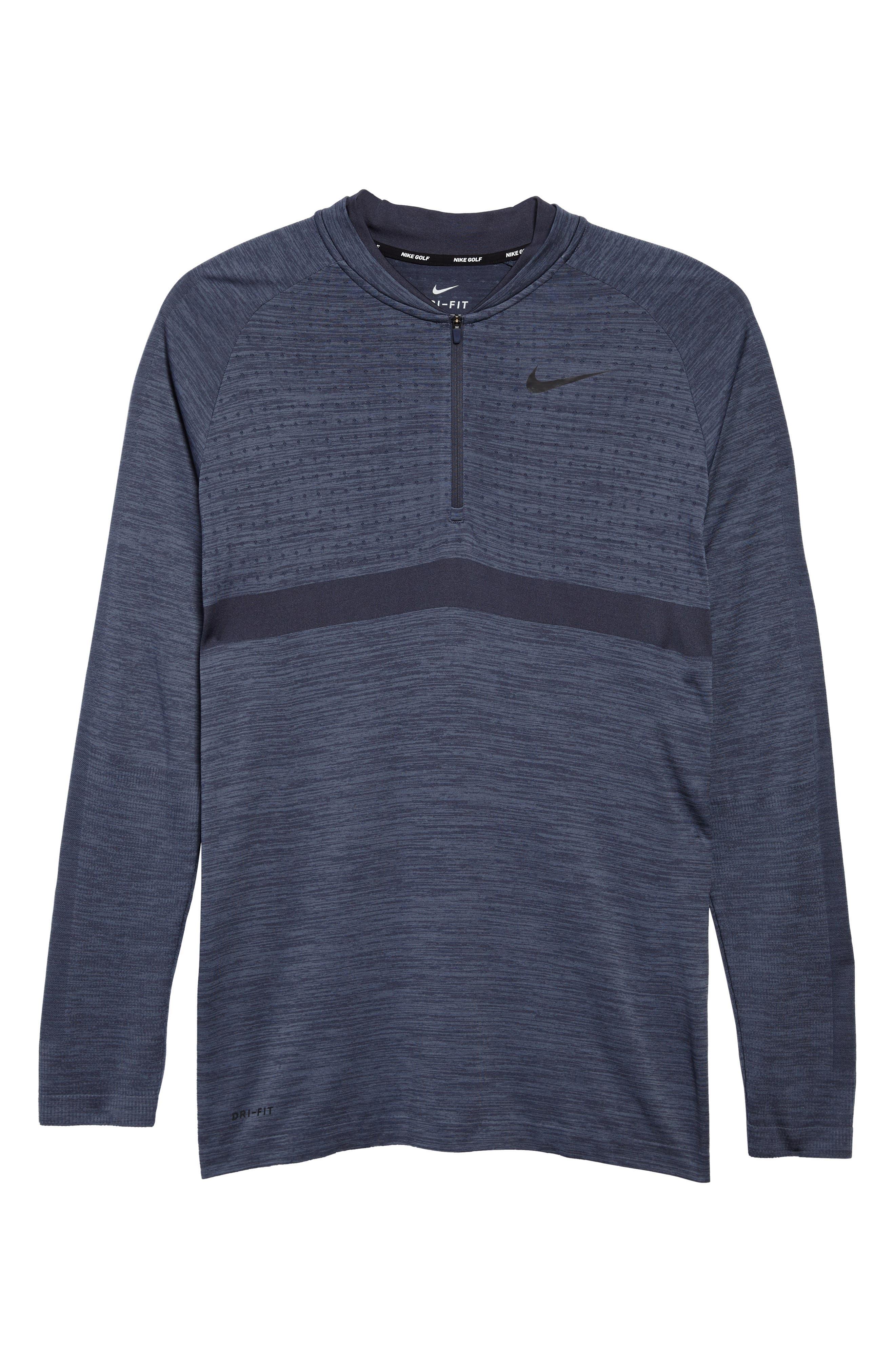 Dry Seamless Half Zip Golf Pullover,                             Alternate thumbnail 6, color,                             021