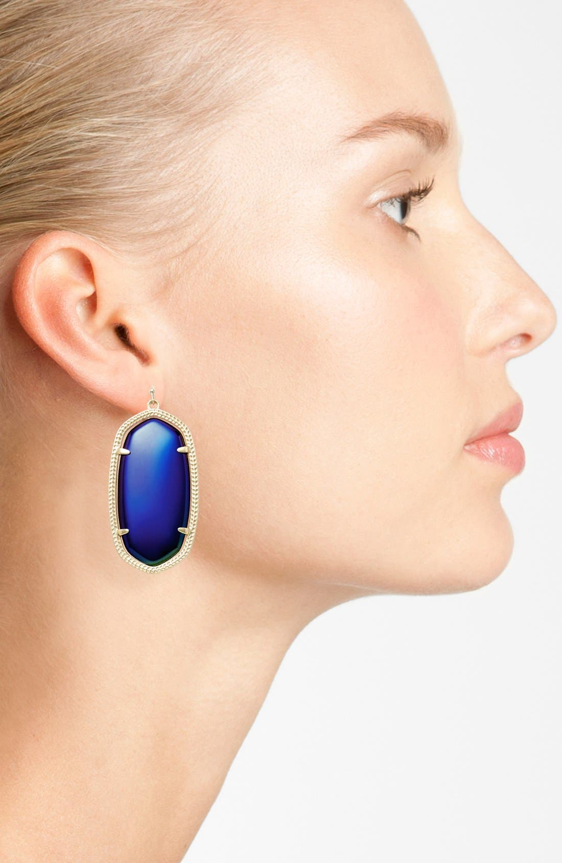 Danielle - Large Oval Statement Earrings,                             Alternate thumbnail 127, color,