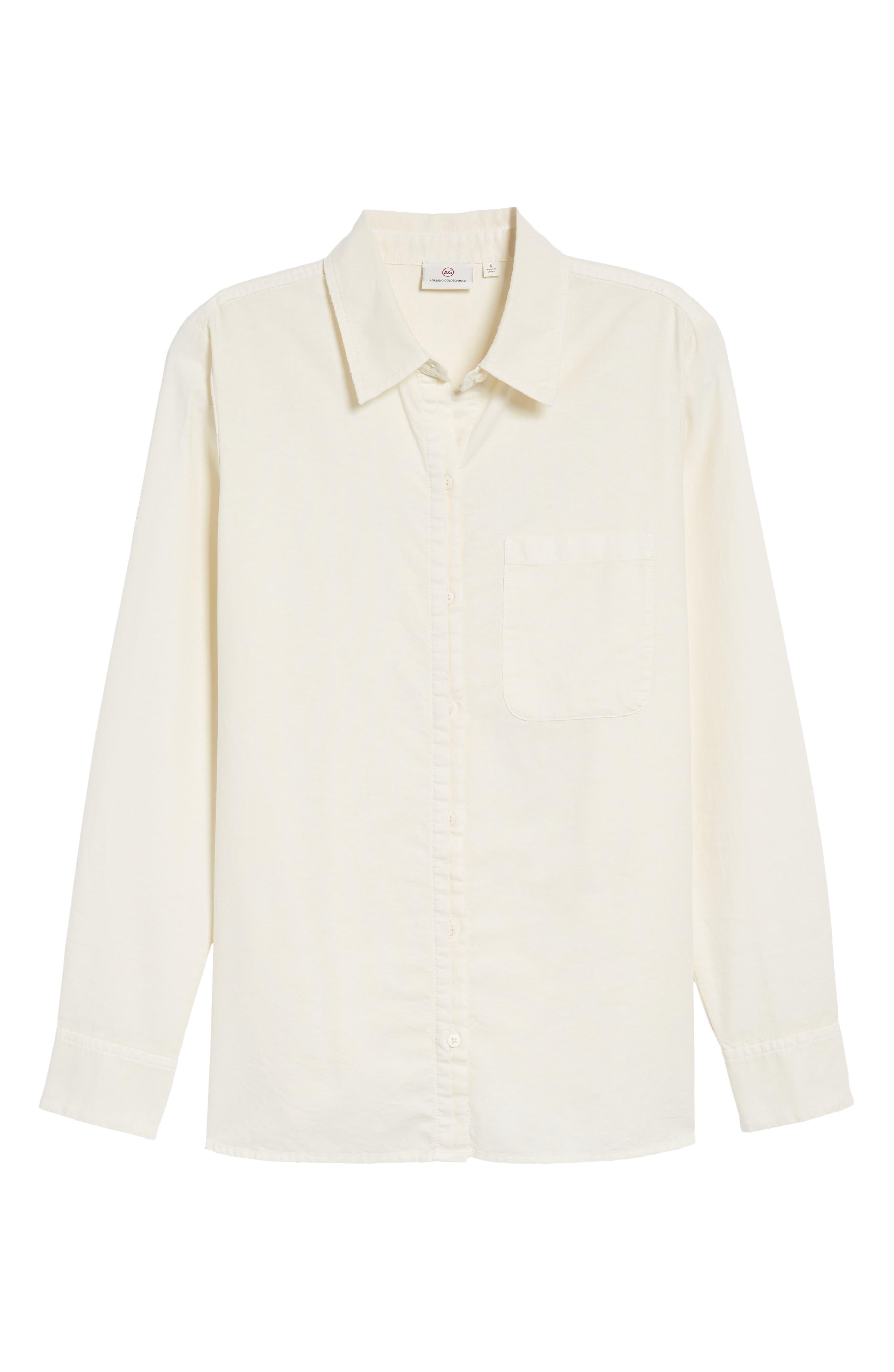 Shana Woven Shirt,                             Alternate thumbnail 6, color,                             100