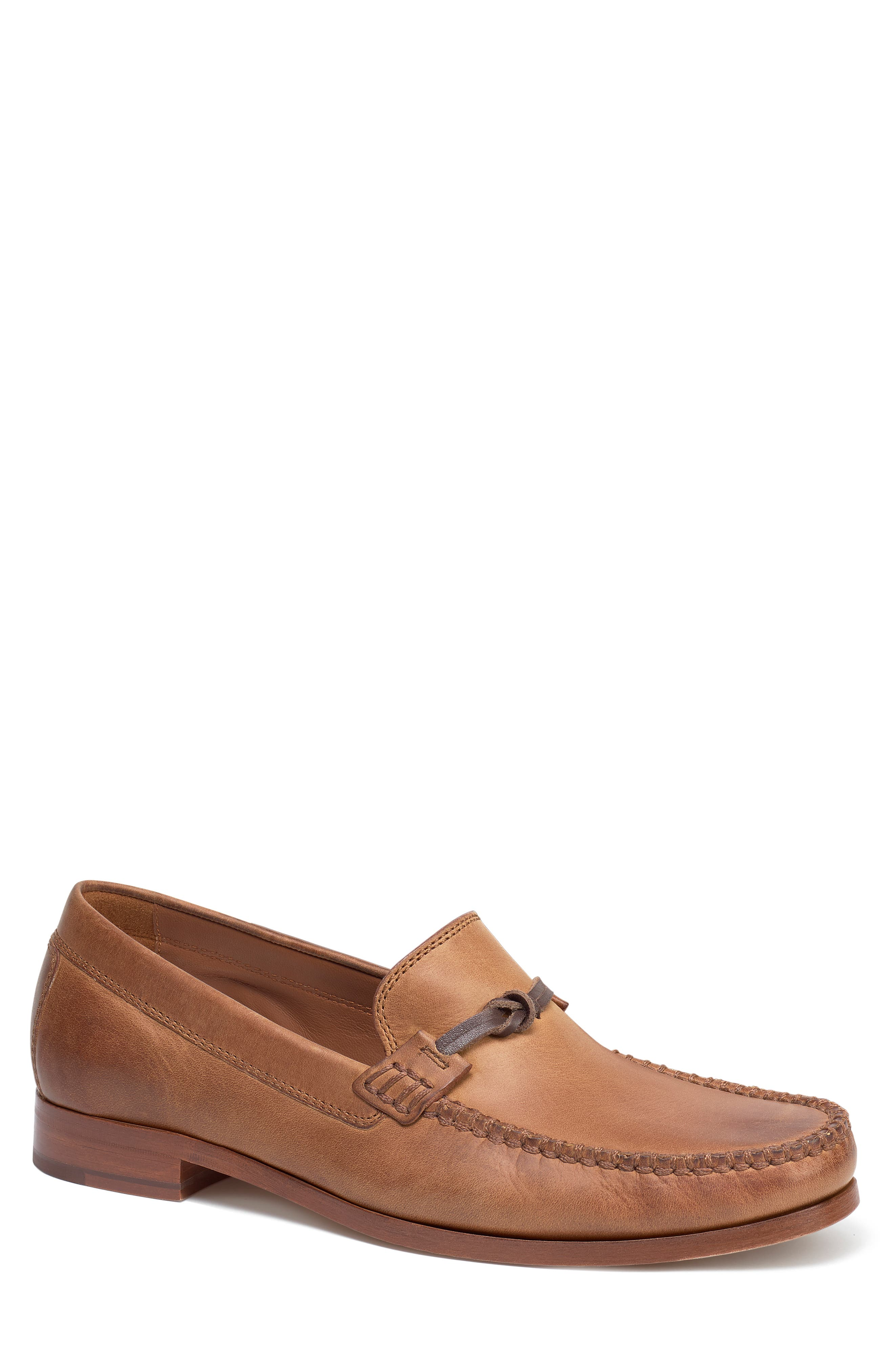 'Sawyer' Loafer,                             Main thumbnail 1, color,                             TAN LEATHER