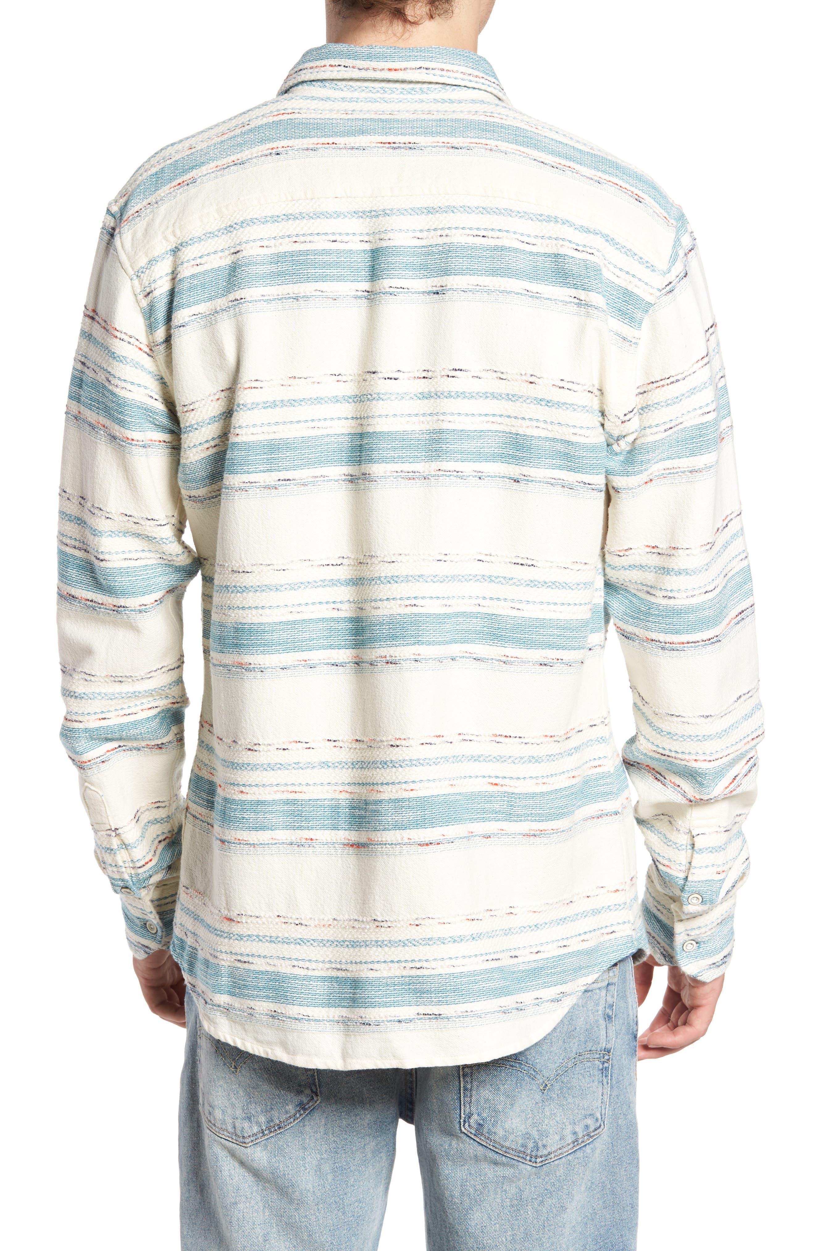 Sedona Stripe Woven Shirt,                             Alternate thumbnail 2, color,                             101