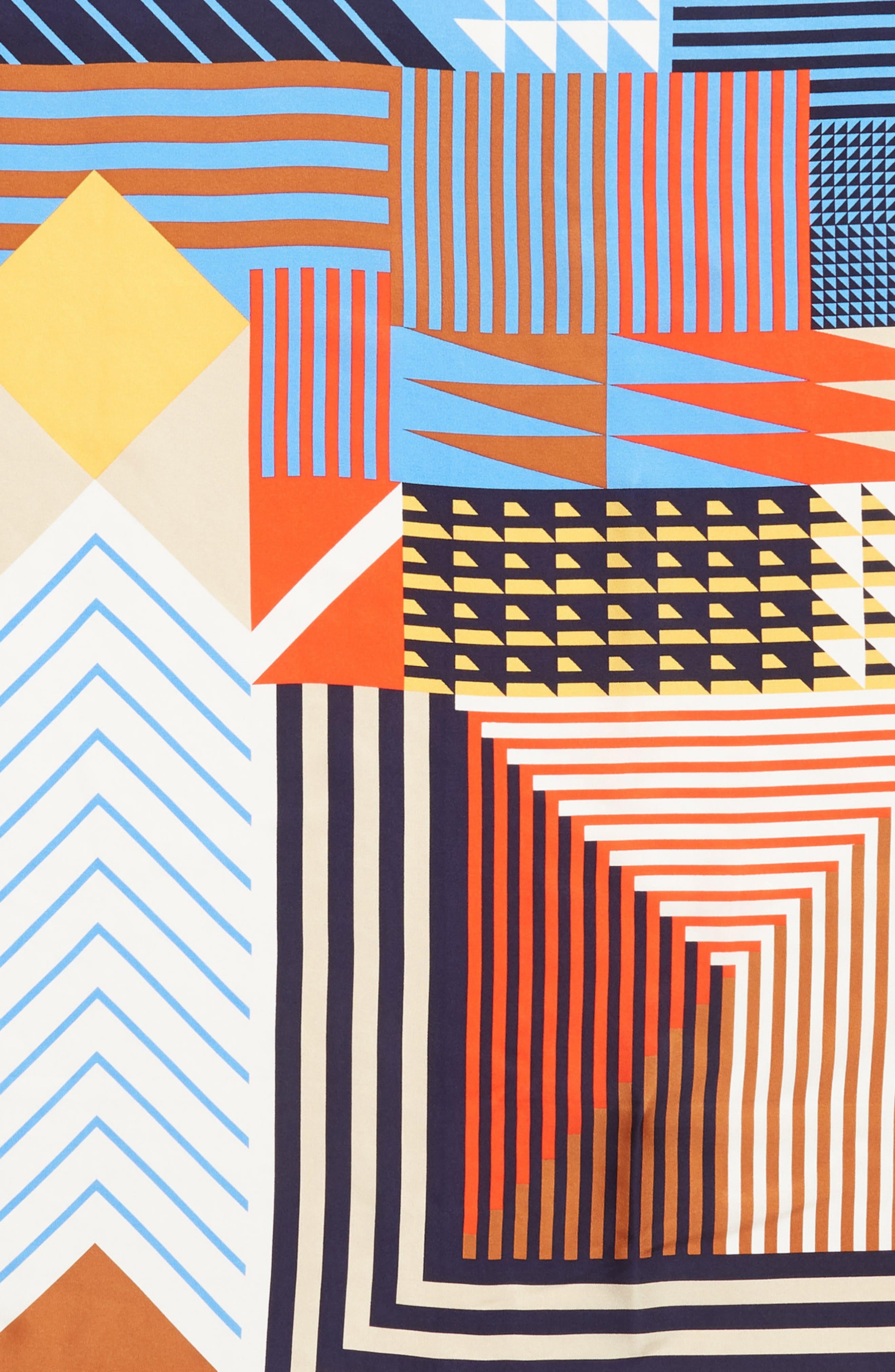 Tassie Square Silk Scarf,                             Alternate thumbnail 4, color,                             411