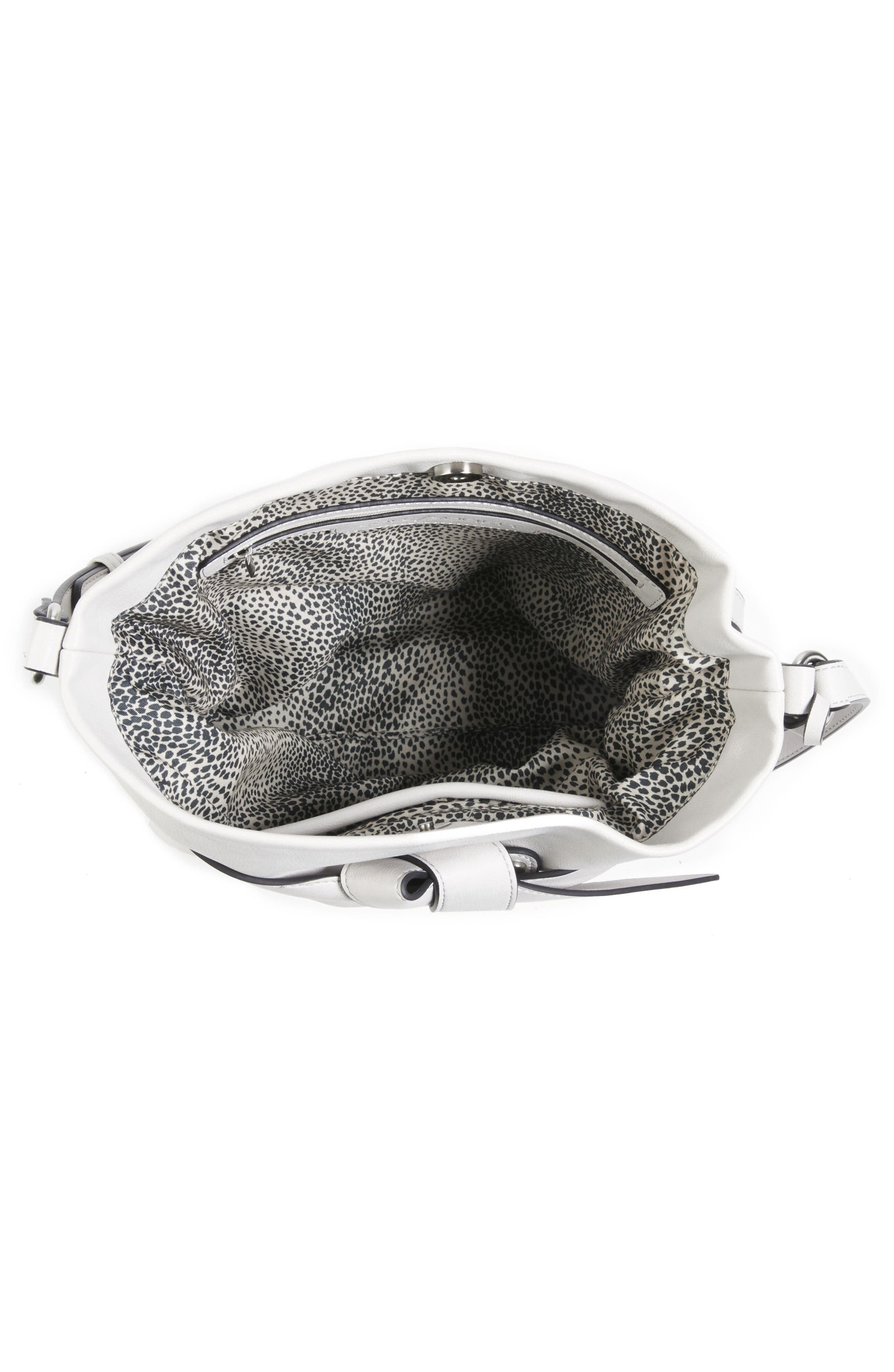 Karon Faux Leather Shoulder Bag,                             Alternate thumbnail 3, color,                             104