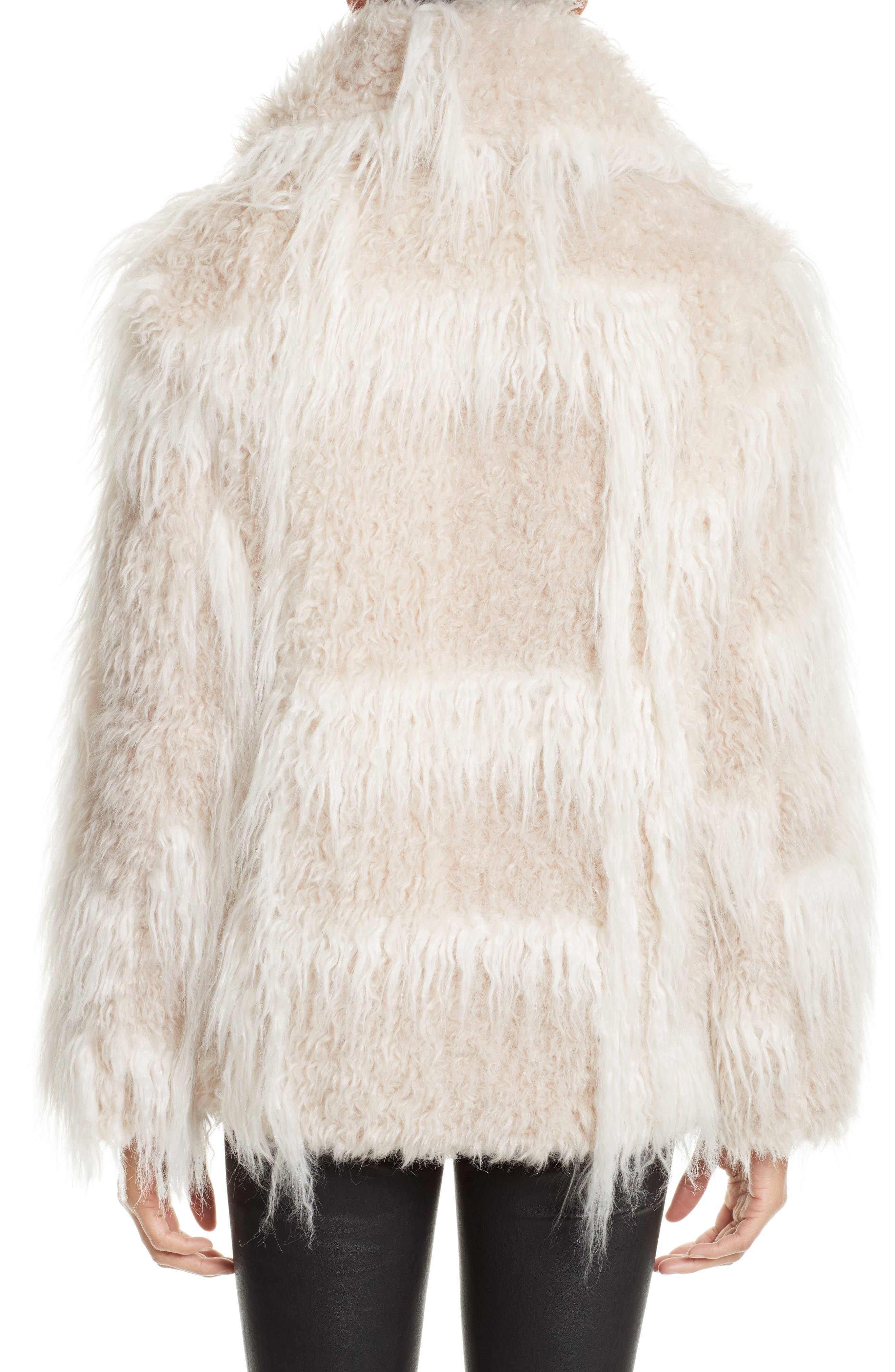 Faux Fur Jacket,                             Alternate thumbnail 2, color,                             194