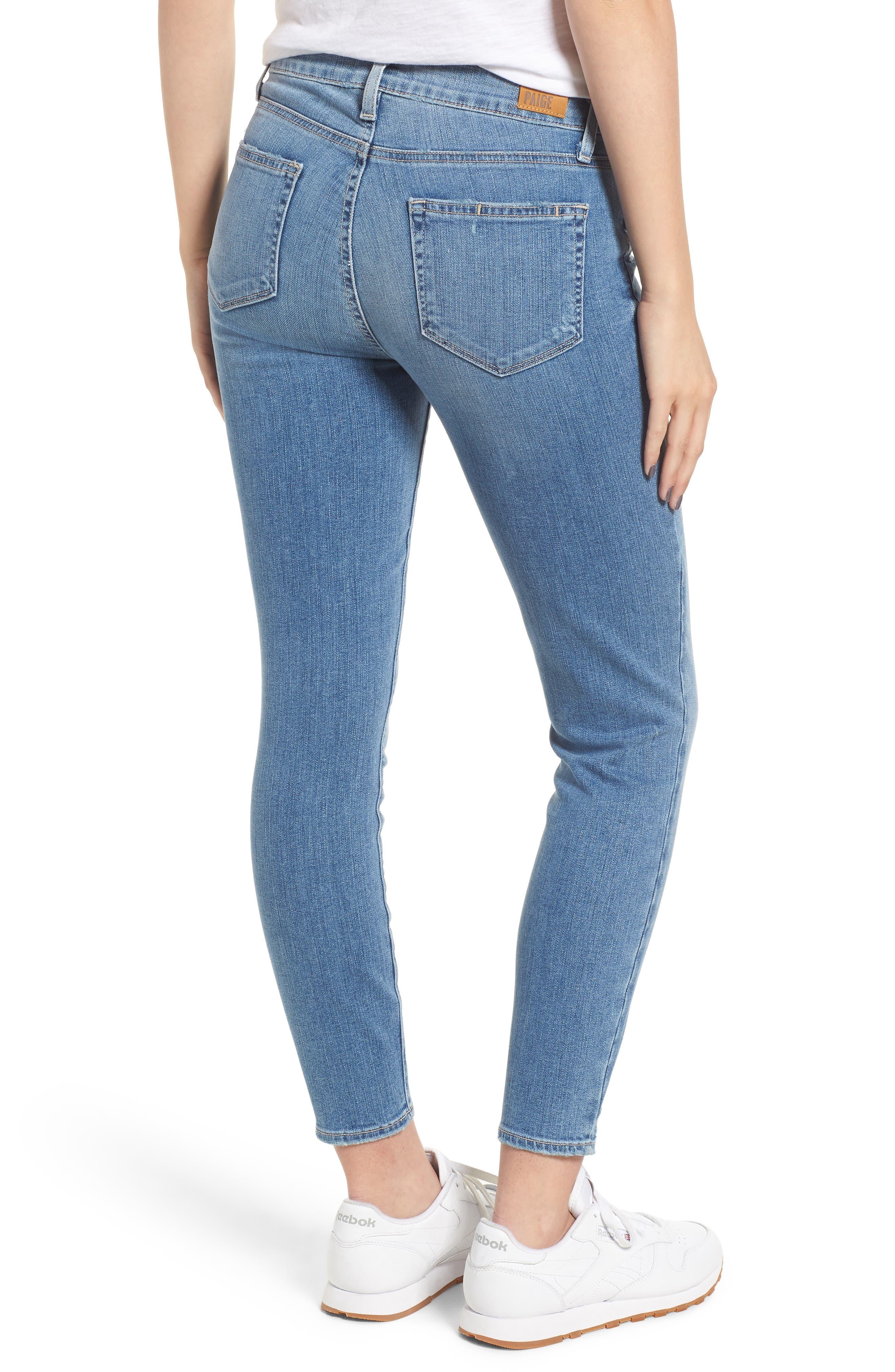 Verdugo Crop Skinny Jeans,                             Alternate thumbnail 2, color,                             SOTO