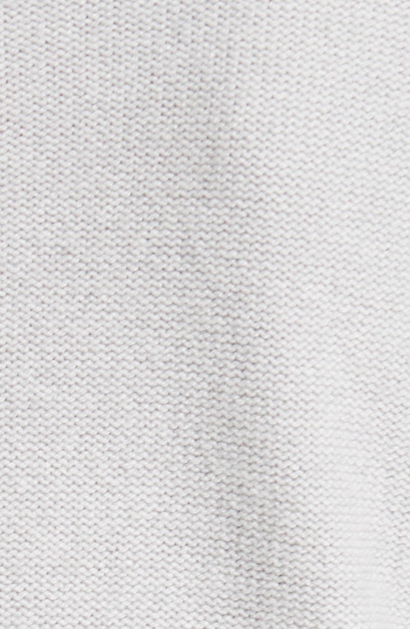 Wool, Silk & Cashmere Knit Turtleneck,                             Alternate thumbnail 5, color,                             050