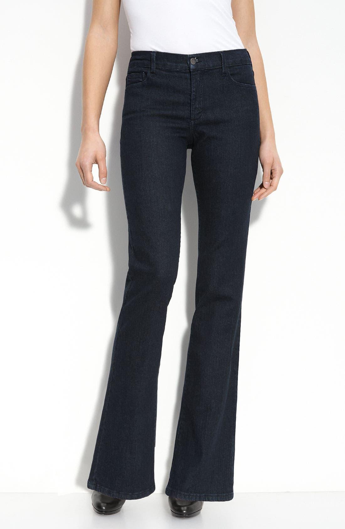 Flare Leg Stretch Jeans,                             Alternate thumbnail 2, color,                             490