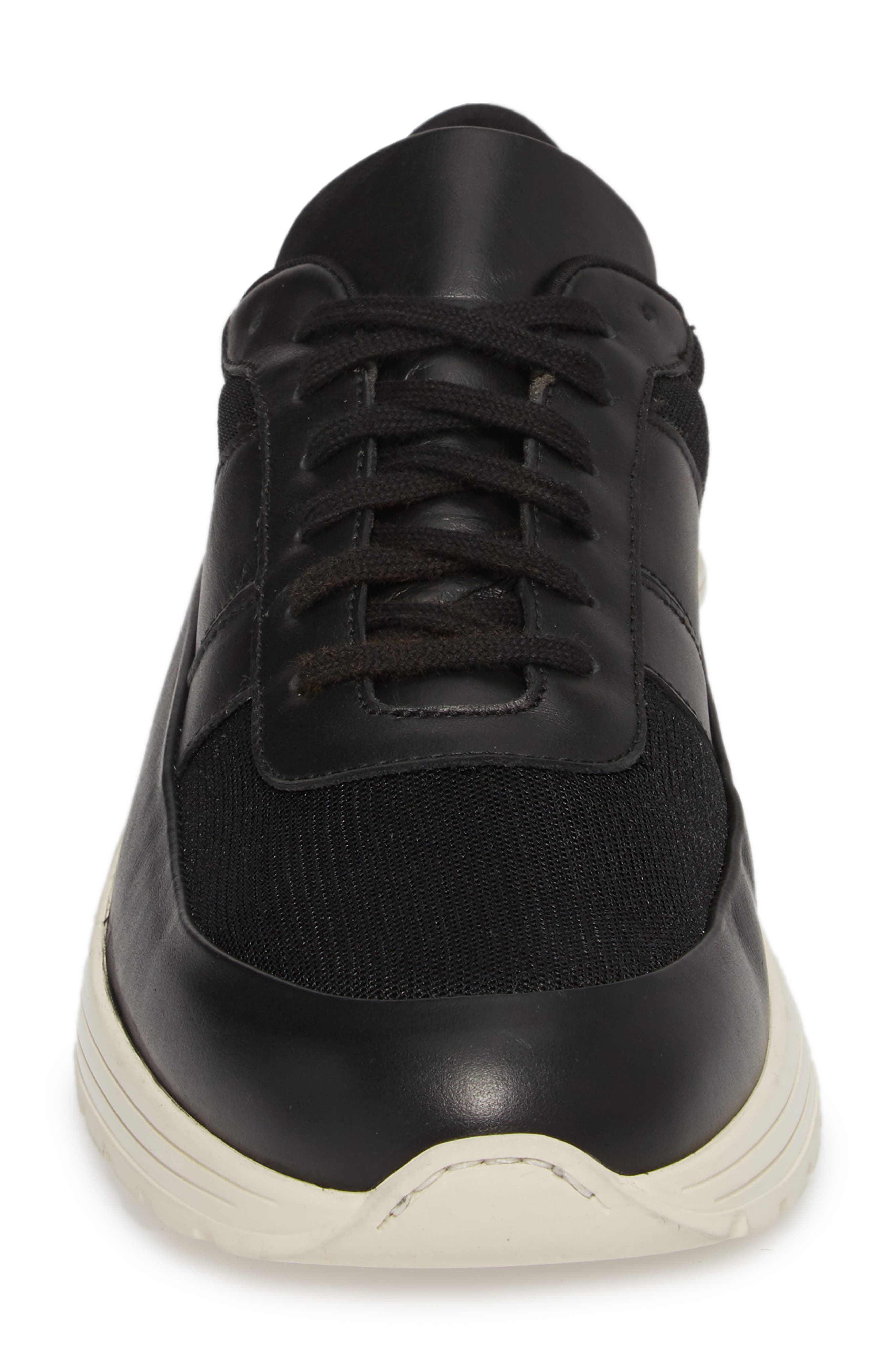Track Super Low Top Sneaker,                             Alternate thumbnail 4, color,                             001