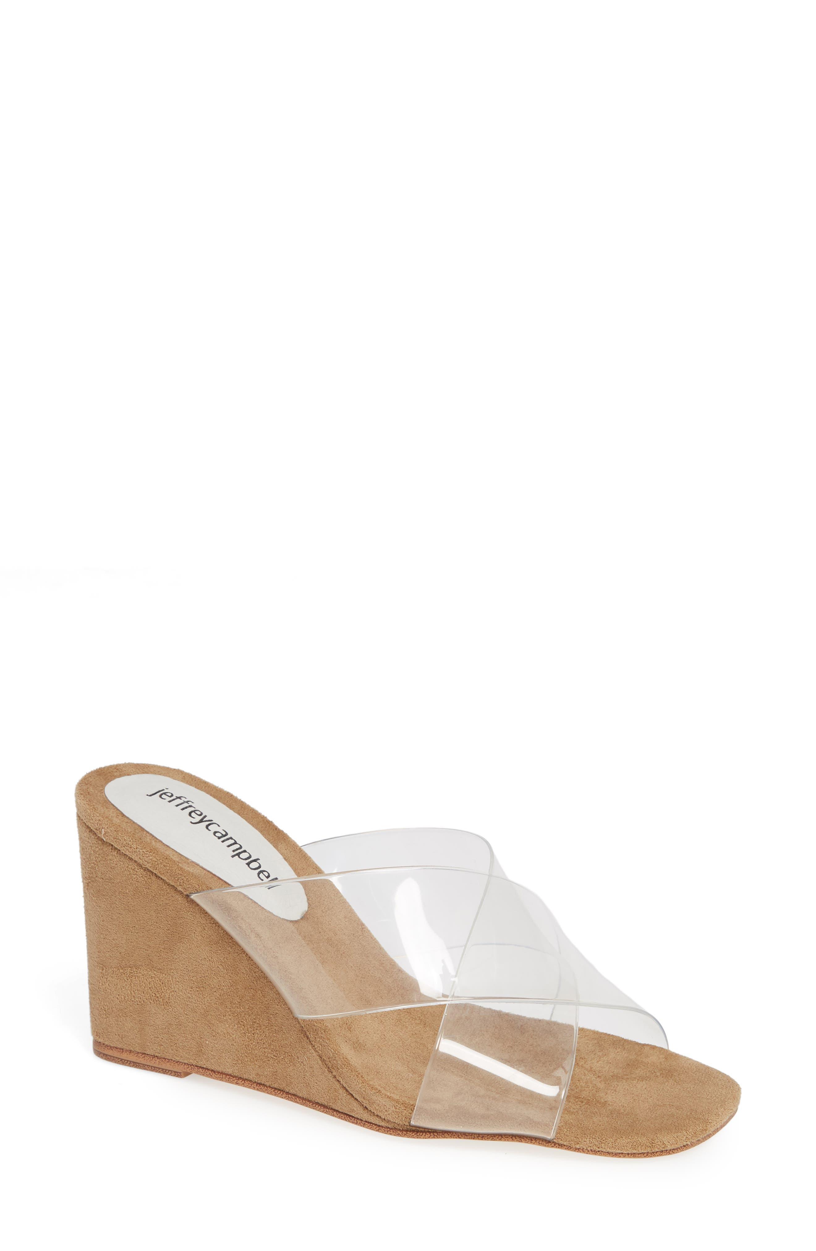 Mystical Wedge Sandal,                         Main,                         color, IRIDESCENT