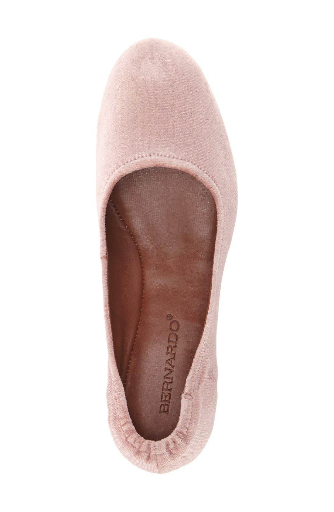 Bernardo Dina Ballet Flat,                             Alternate thumbnail 10, color,