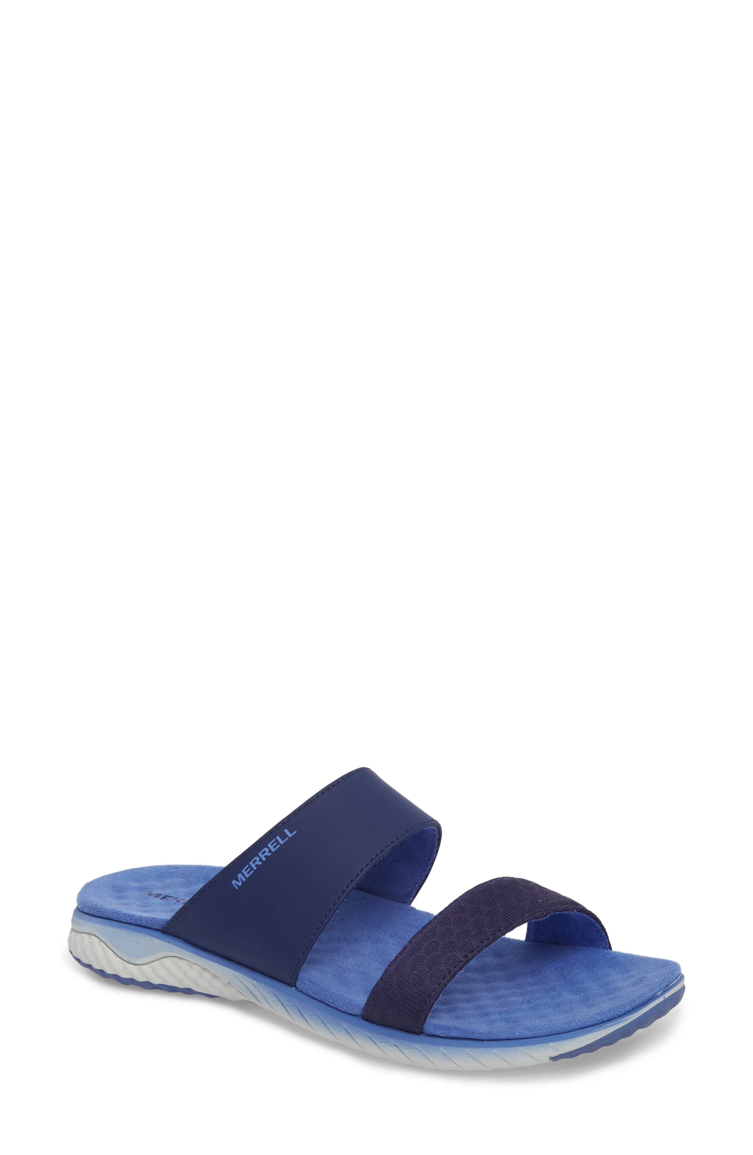 1SIX8 Linna Air Cushion+ Slide Sandal,                             Main thumbnail 3, color,