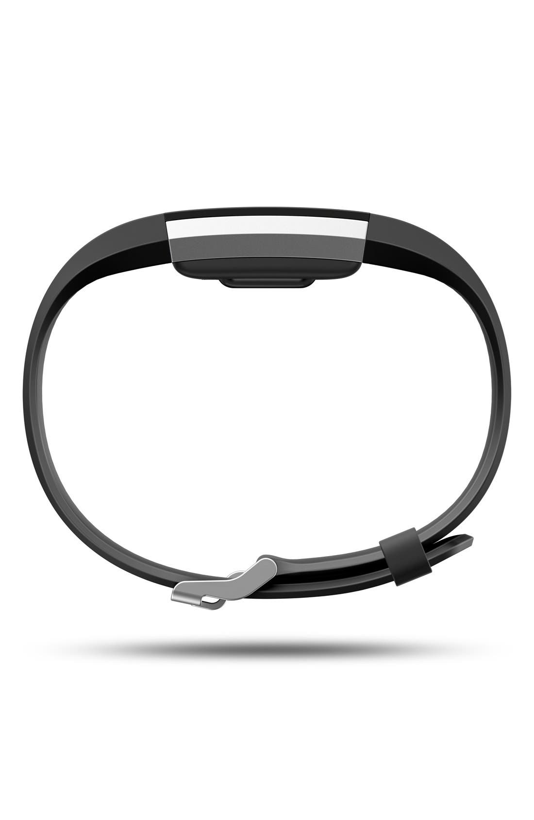 'Charge 2' Wireless Activity & Heart Rate Tracker,                             Alternate thumbnail 5, color,                             BLACK