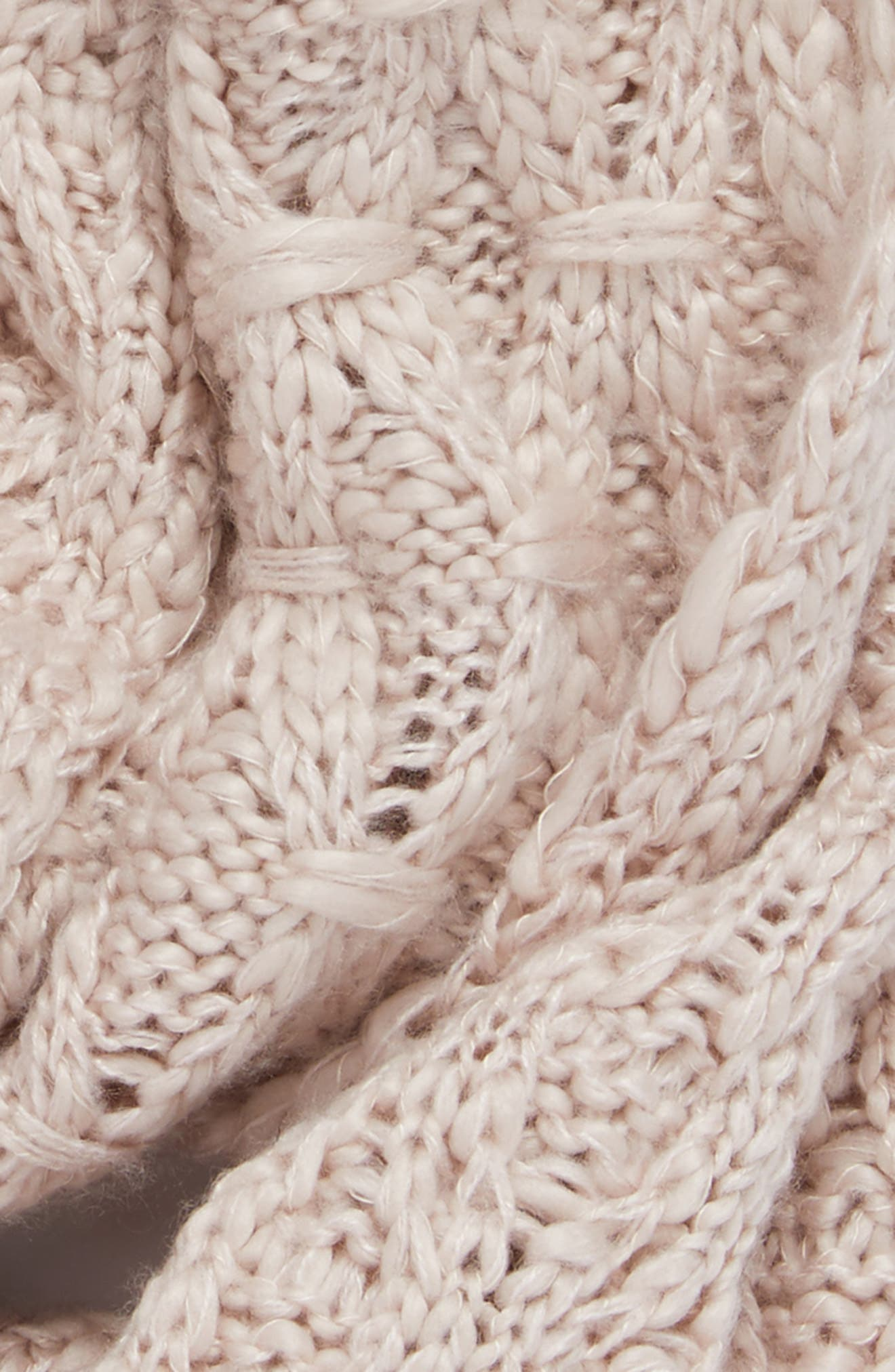 Solid Chunky Knit Infinity Scarf,                             Alternate thumbnail 20, color,