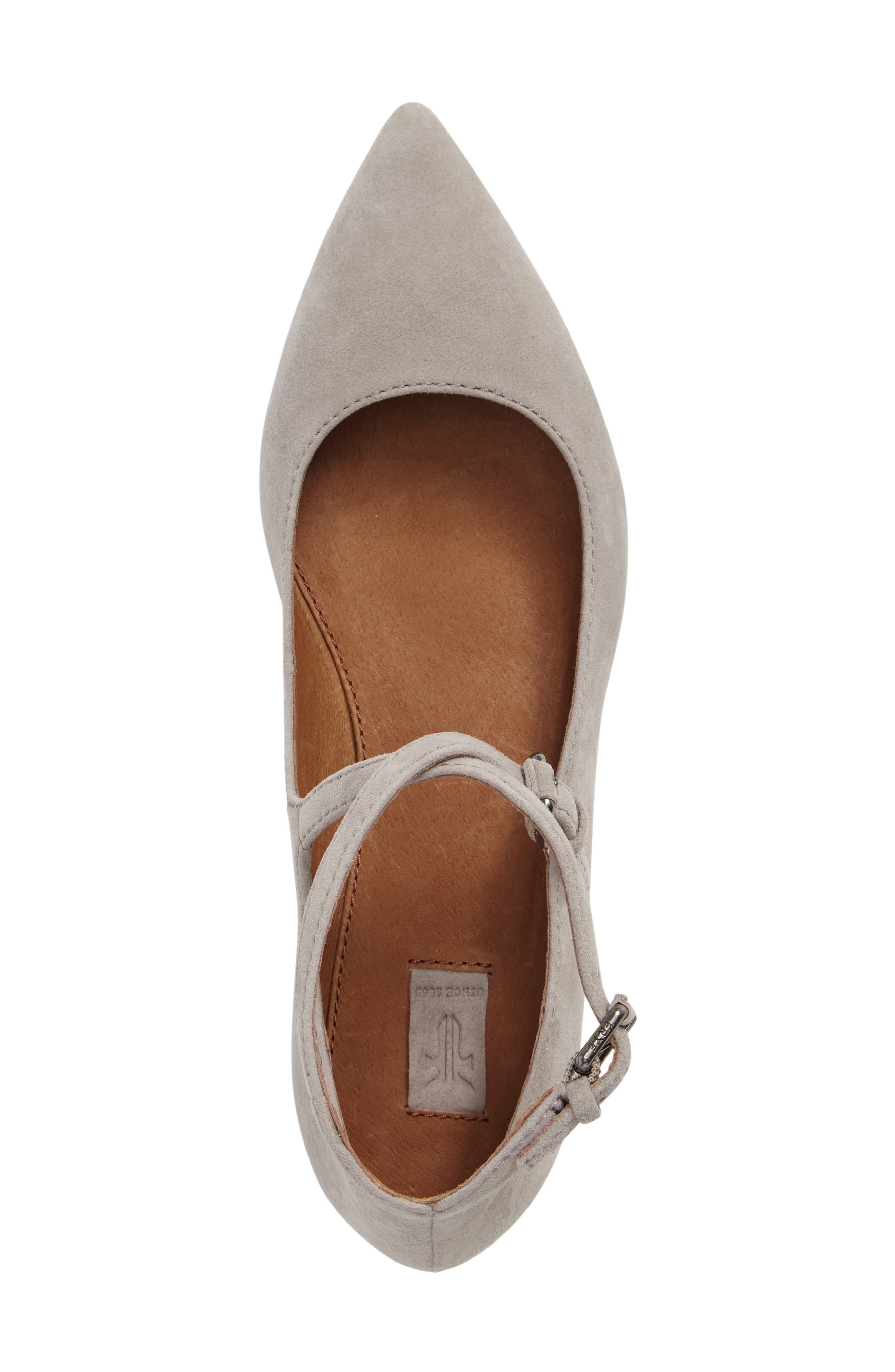 Sienna Cross Ballet Flat,                             Alternate thumbnail 8, color,