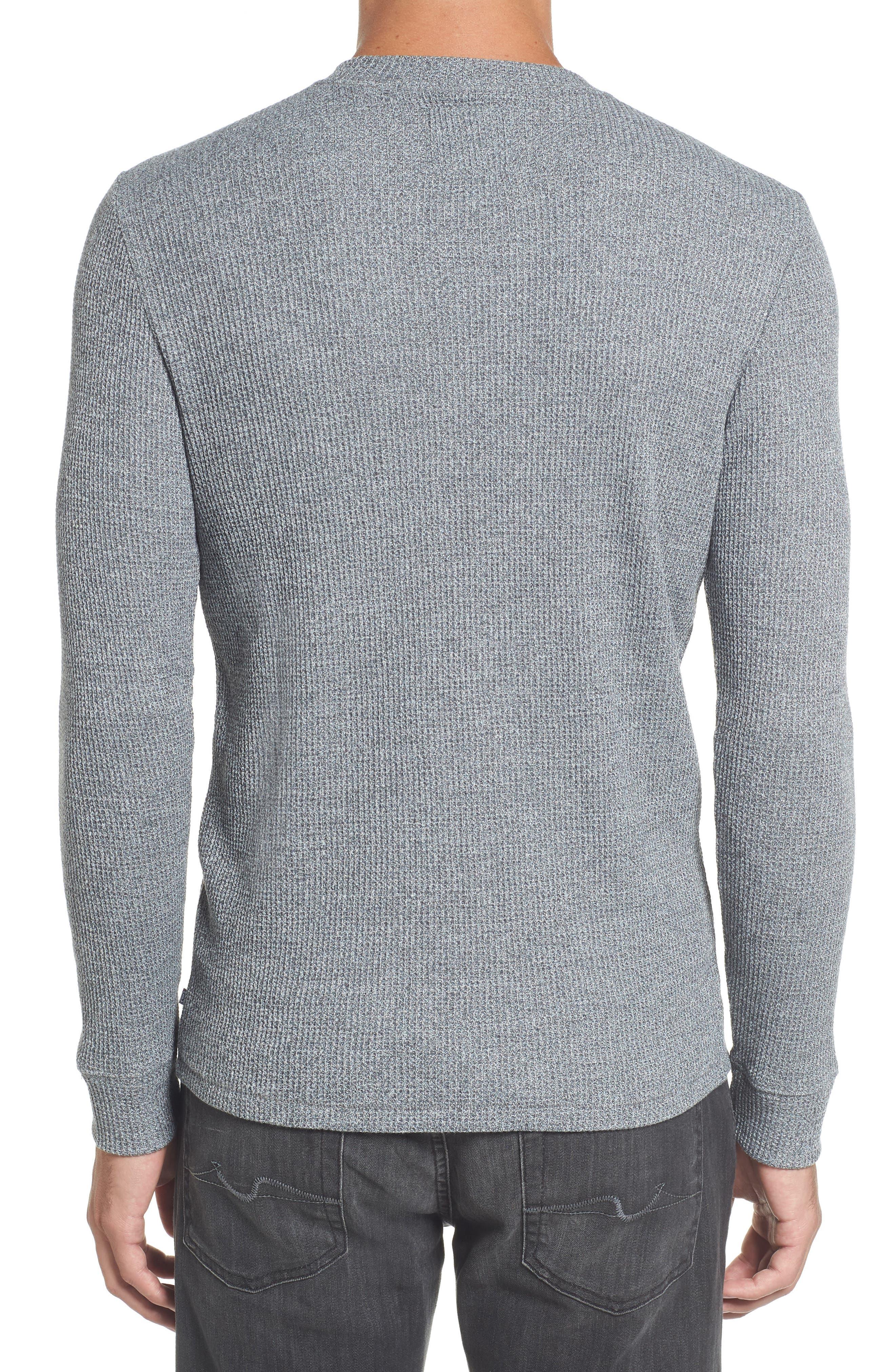 Slim Fit Long Sleeve Henley Shirt,                             Alternate thumbnail 2, color,                             200