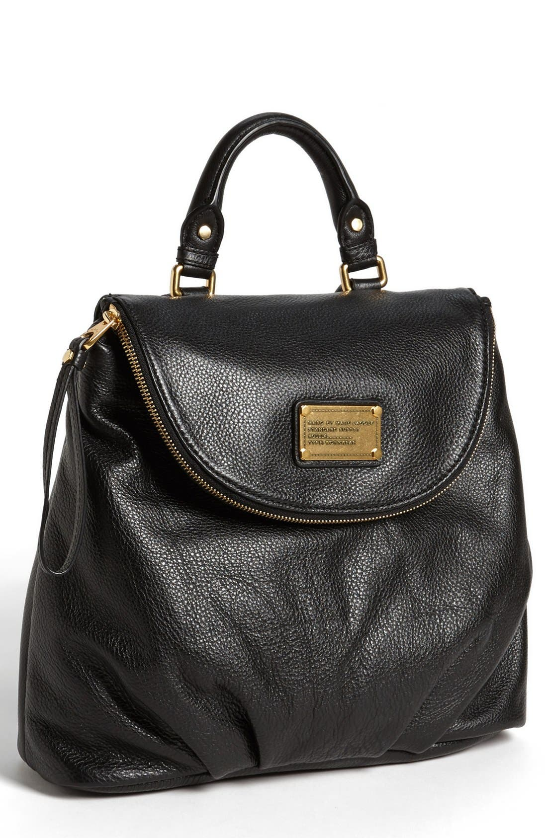 MARC BY MARC JACOBS 'Classic Q - Mariska' Backpack,                             Main thumbnail 1, color,                             001