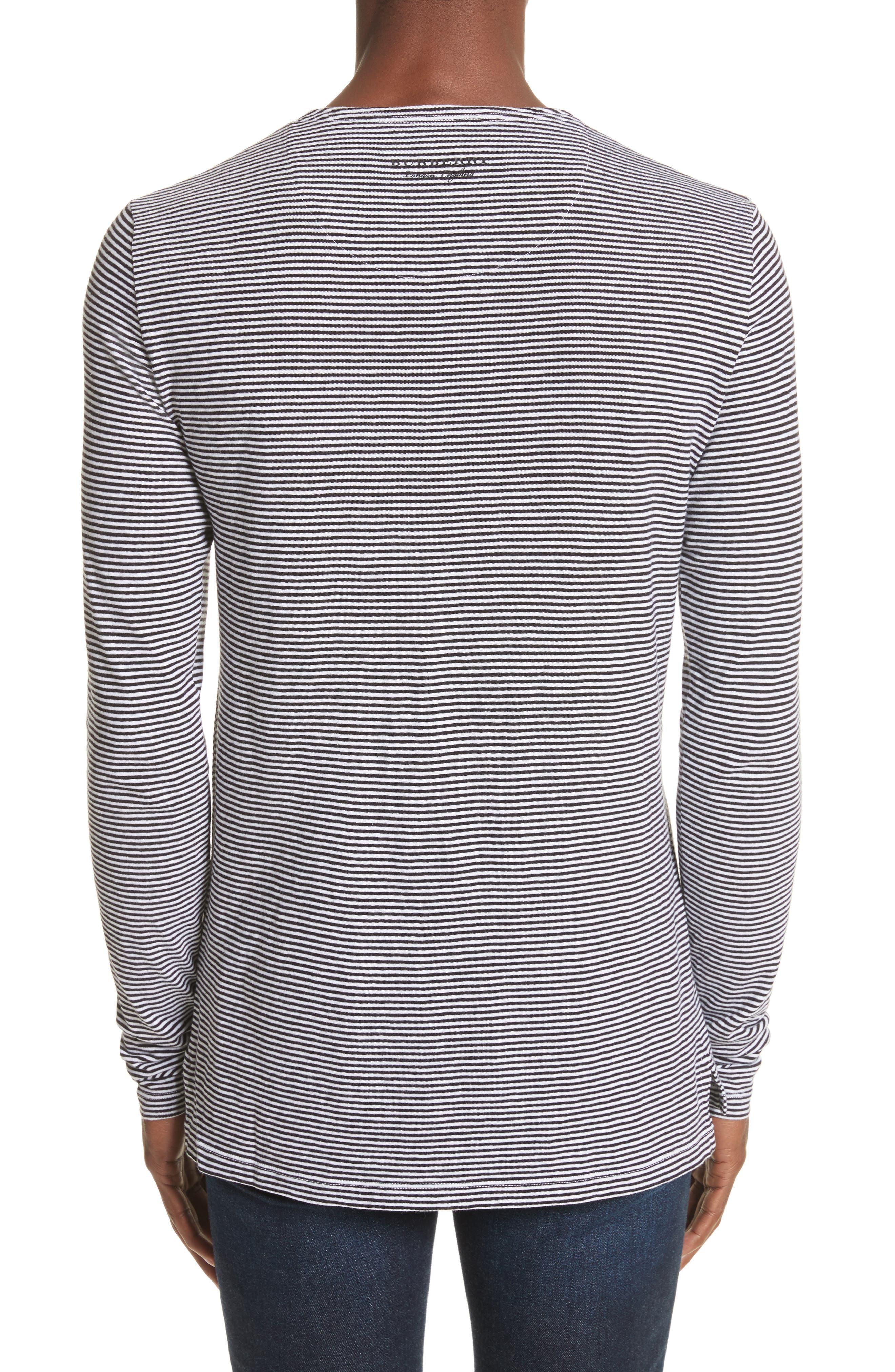 Tayford Stripe Long Sleeve T-Shirt,                             Alternate thumbnail 2, color,                             100