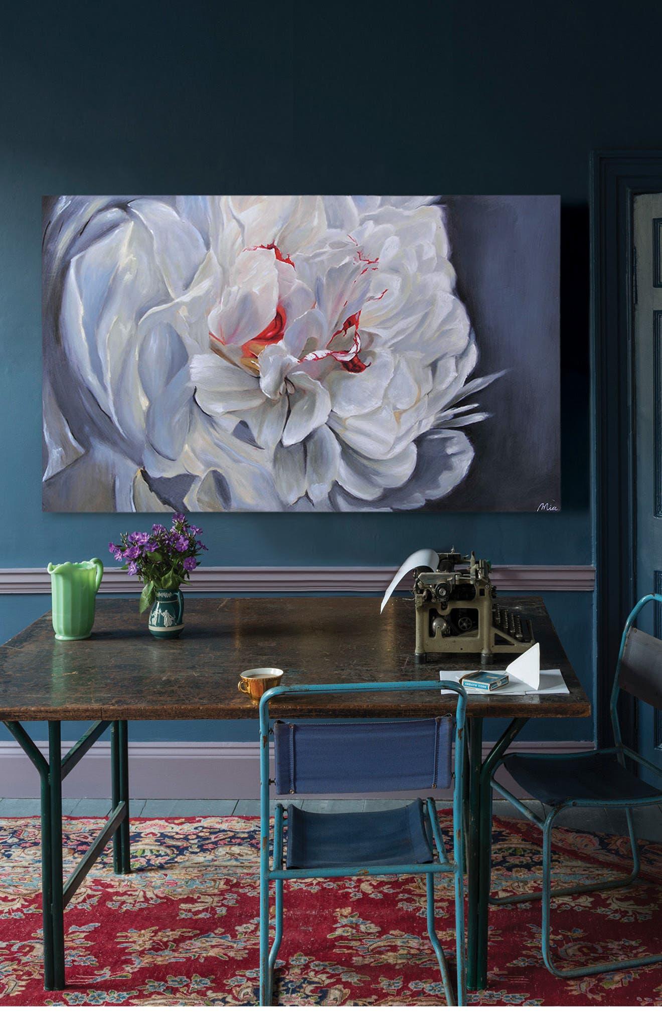 Floral Elegance Canvas Art,                             Alternate thumbnail 2, color,                             MULTICOLOR