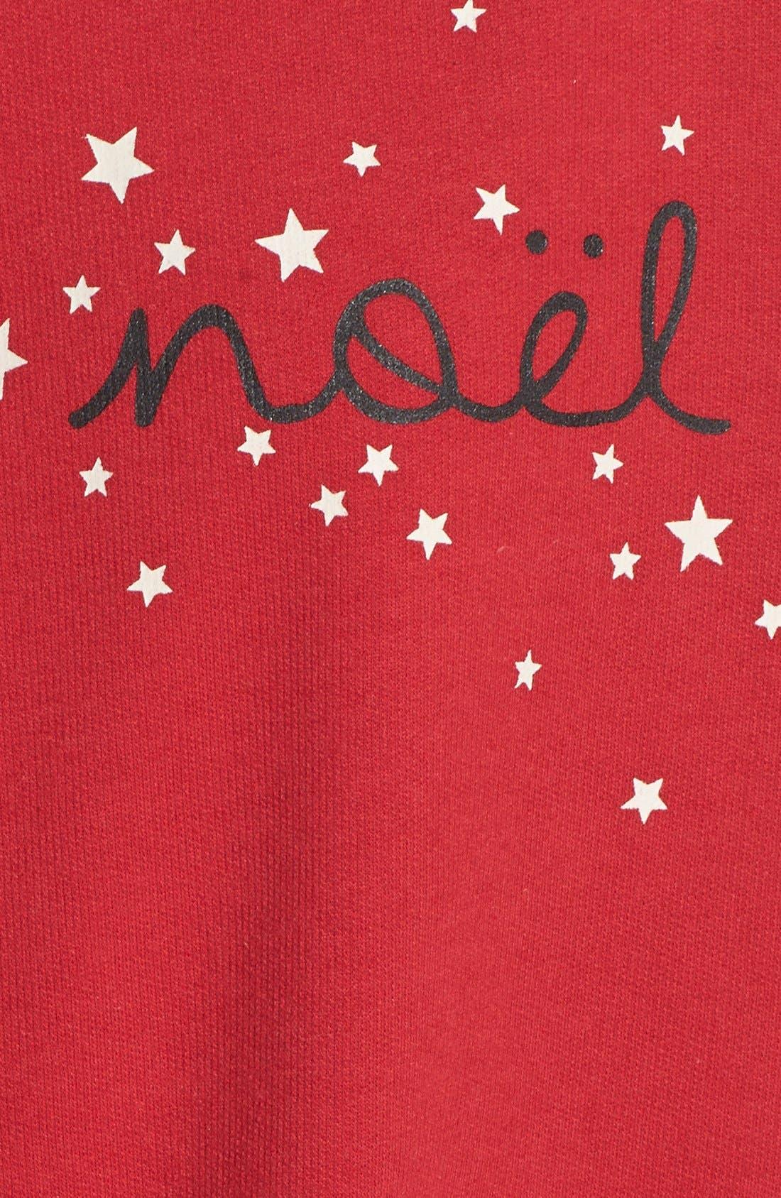 'C'est Noël' Sweatshirt,                             Alternate thumbnail 2, color,                             600