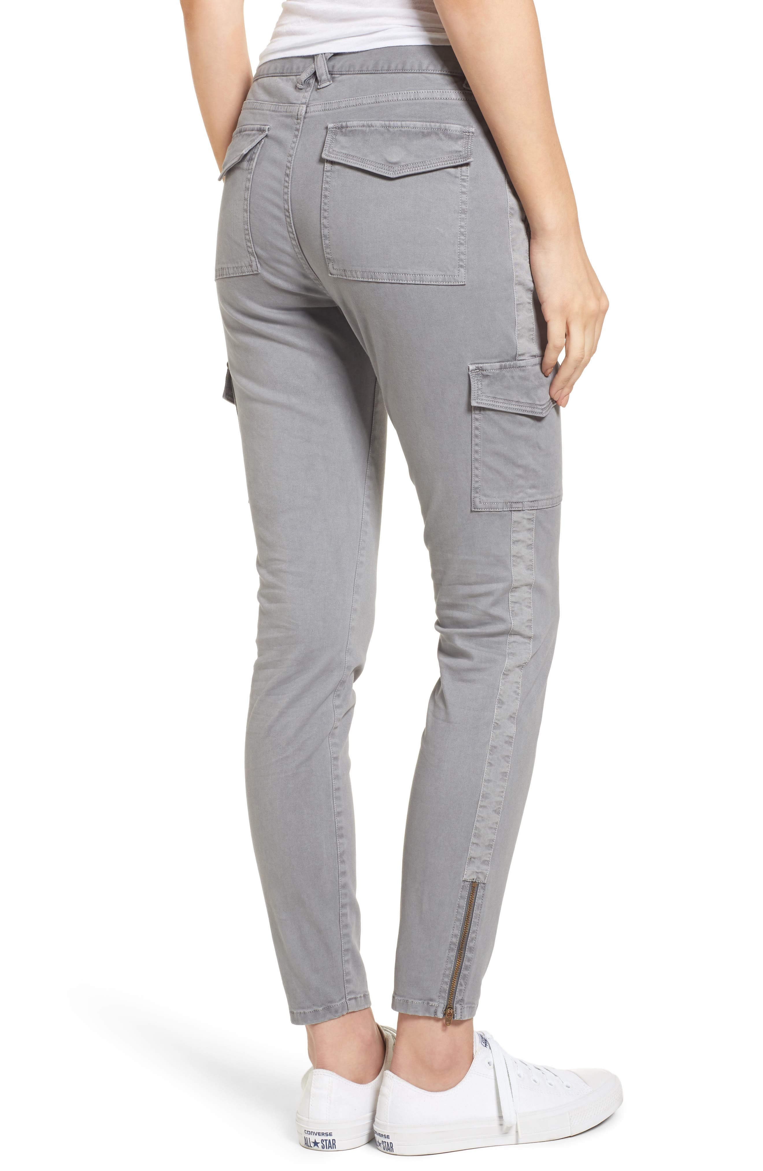 Garment Dyed Utility Skinny Pants,                             Alternate thumbnail 2, color,                             057