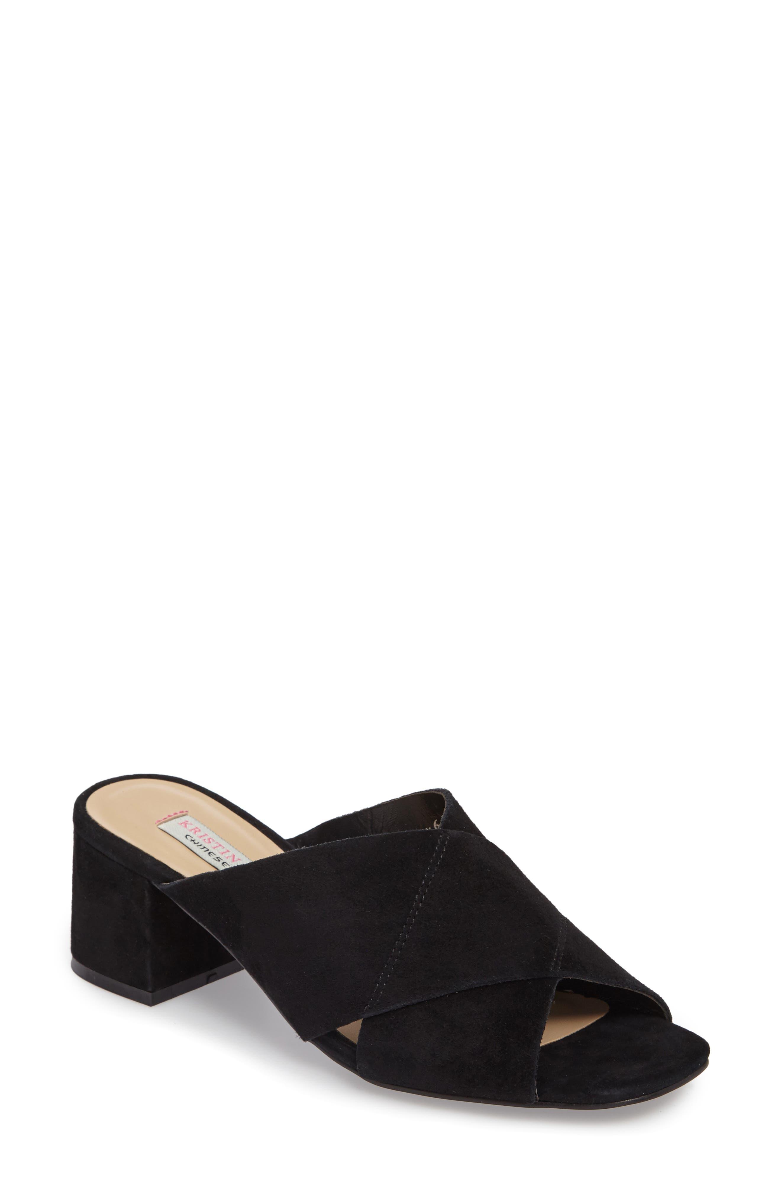 Luvvock Slide Sandal,                         Main,                         color, 001
