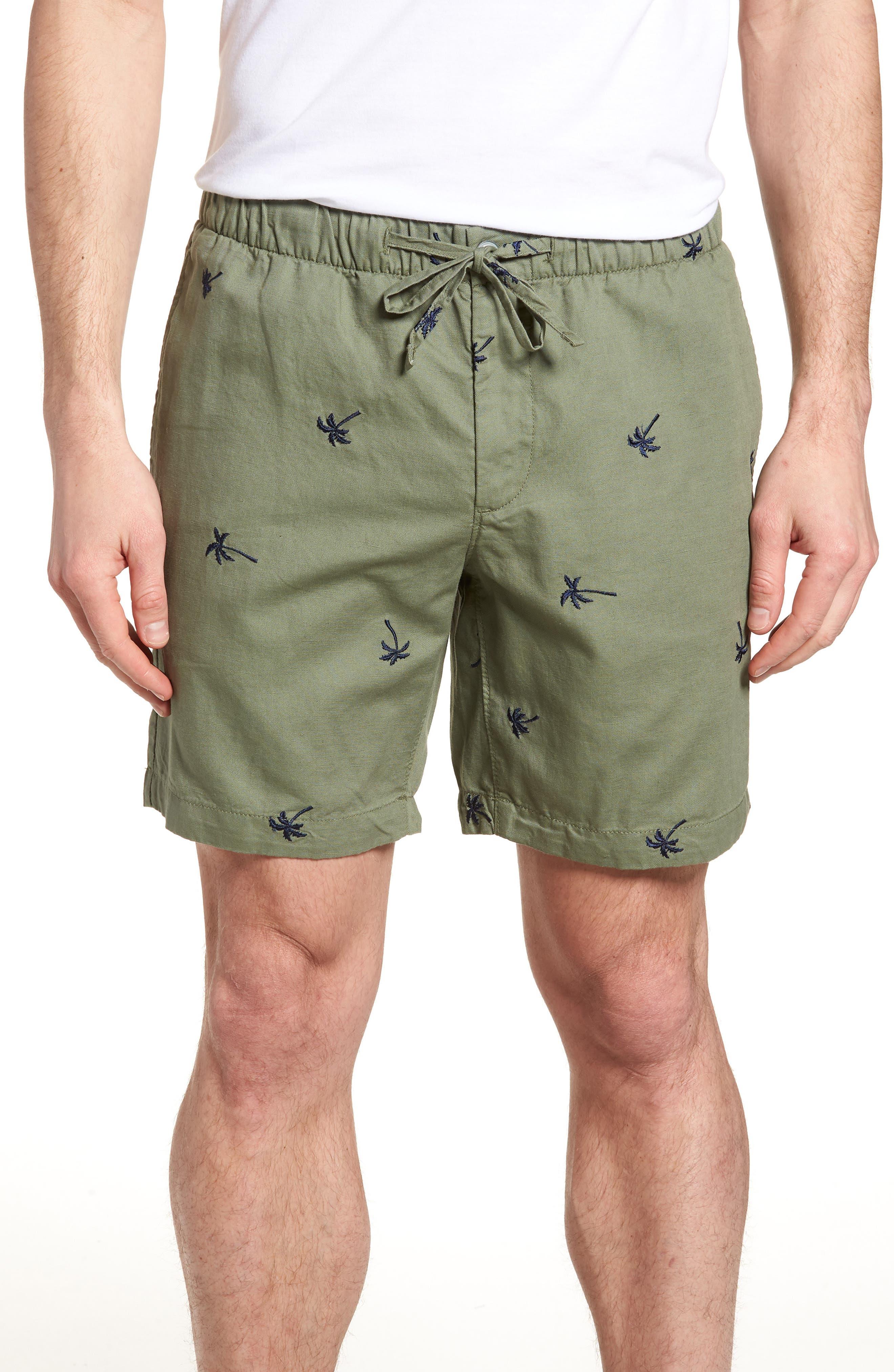 Print Beach Shorts,                             Main thumbnail 1, color,                             300
