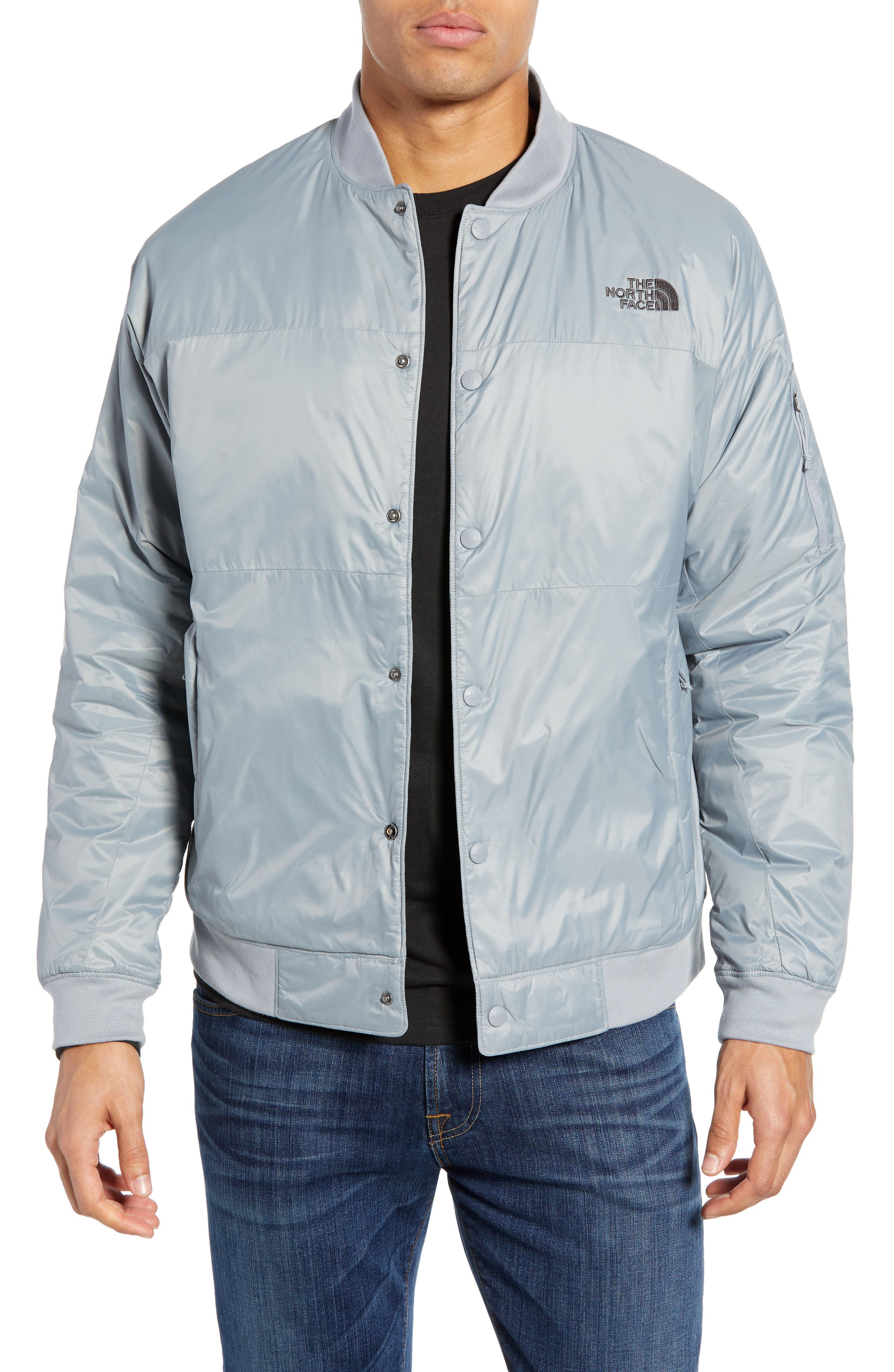 The North Face Presley Insulated Bomber Jacket, Grey