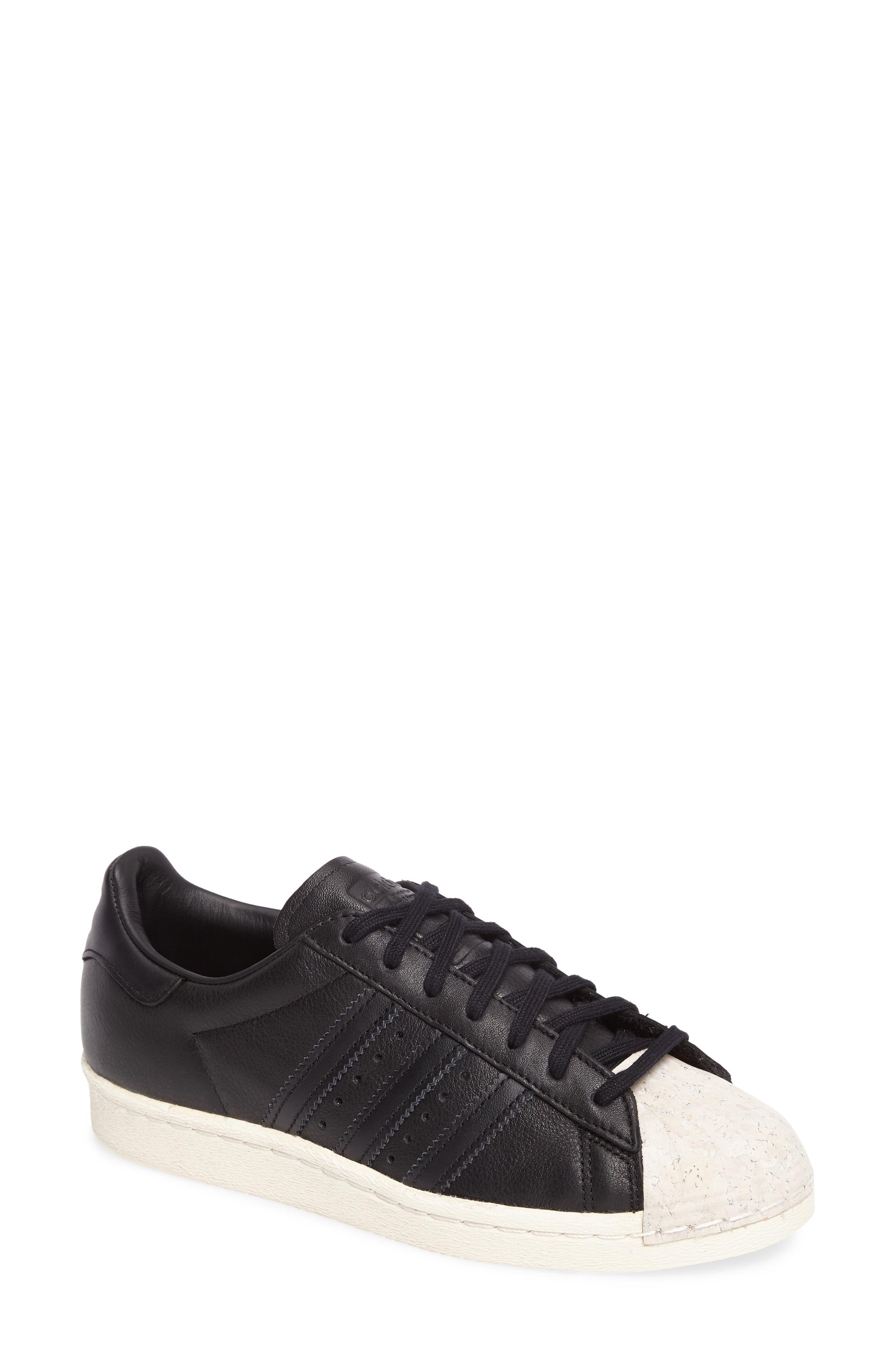 Superstar 80s Sneaker,                             Main thumbnail 1, color,                             001