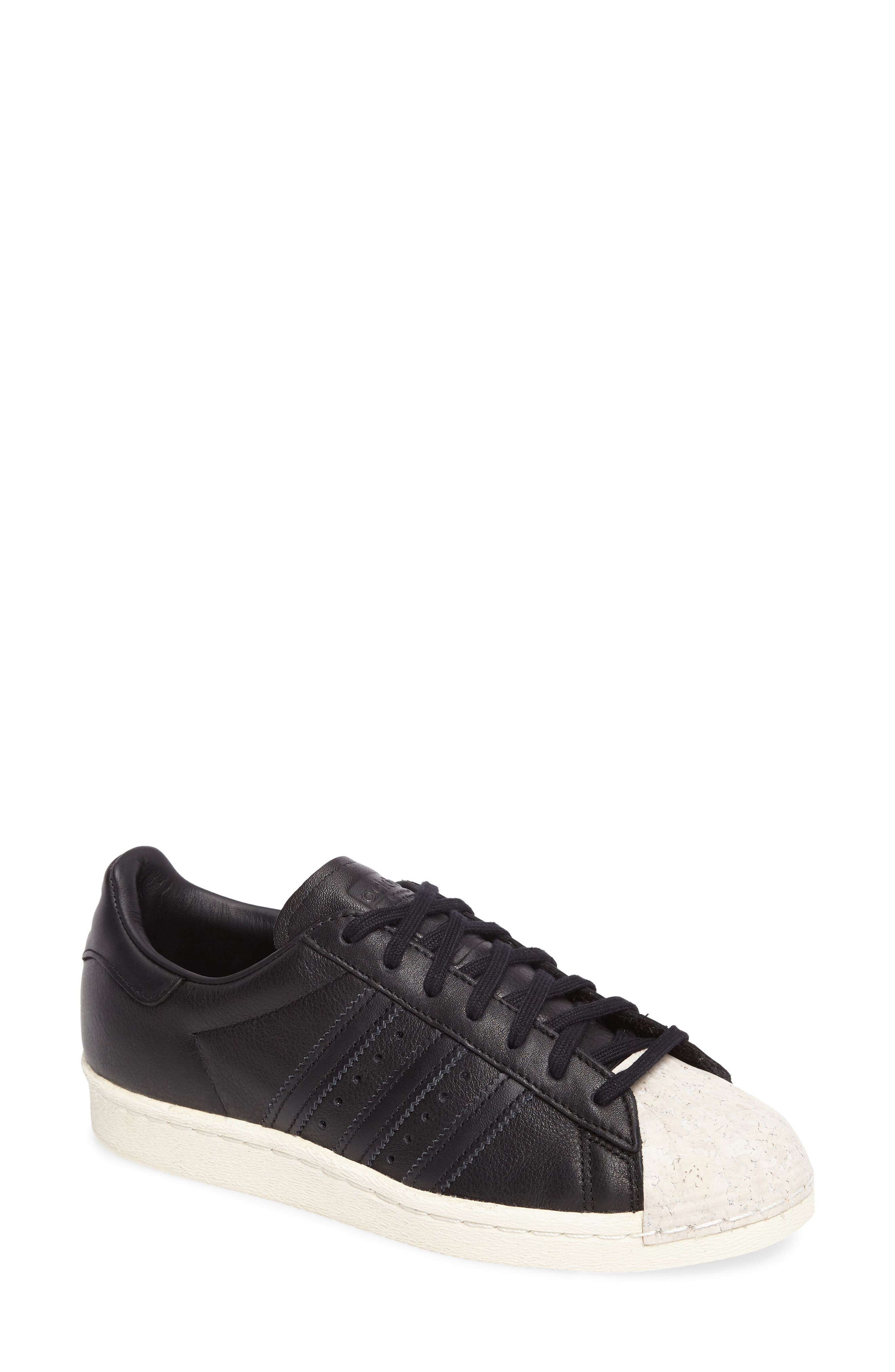Superstar 80s Sneaker,                         Main,                         color, 001