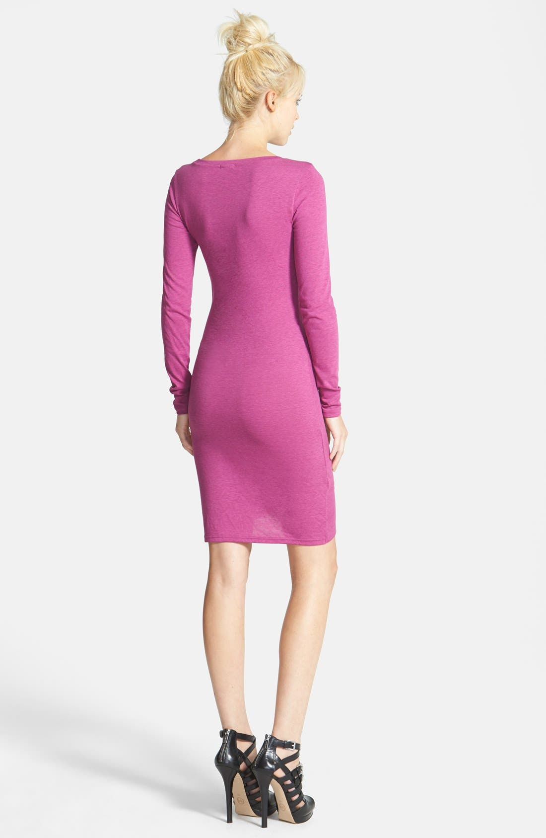 Ruched Long Sleeve Dress,                             Alternate thumbnail 49, color,