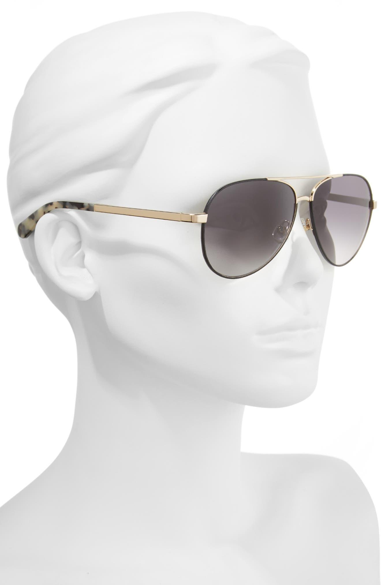 amaris 59mm sunglasses,                             Alternate thumbnail 2, color,                             001