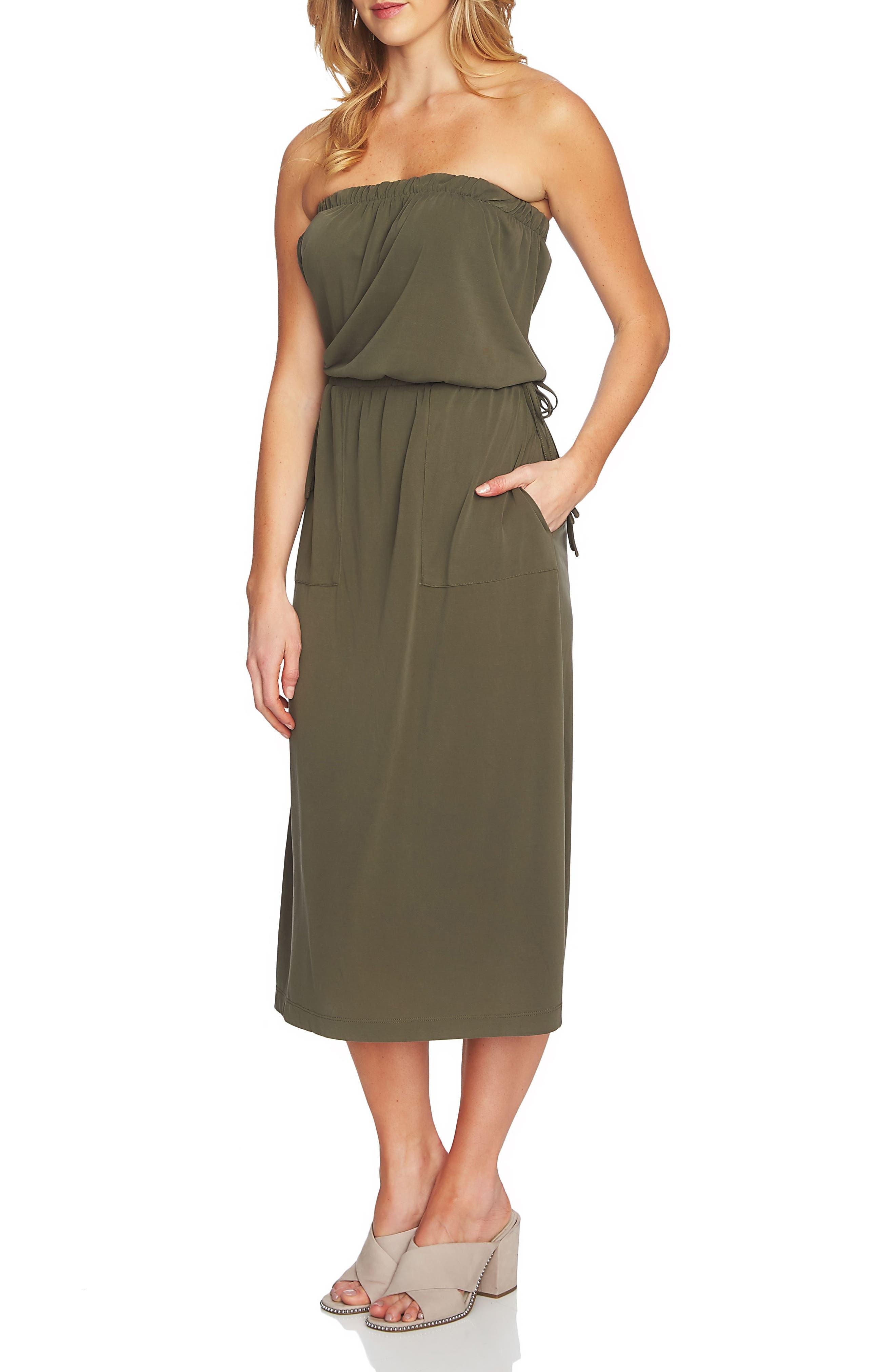 Strapless Maxi Dress,                             Main thumbnail 2, color,