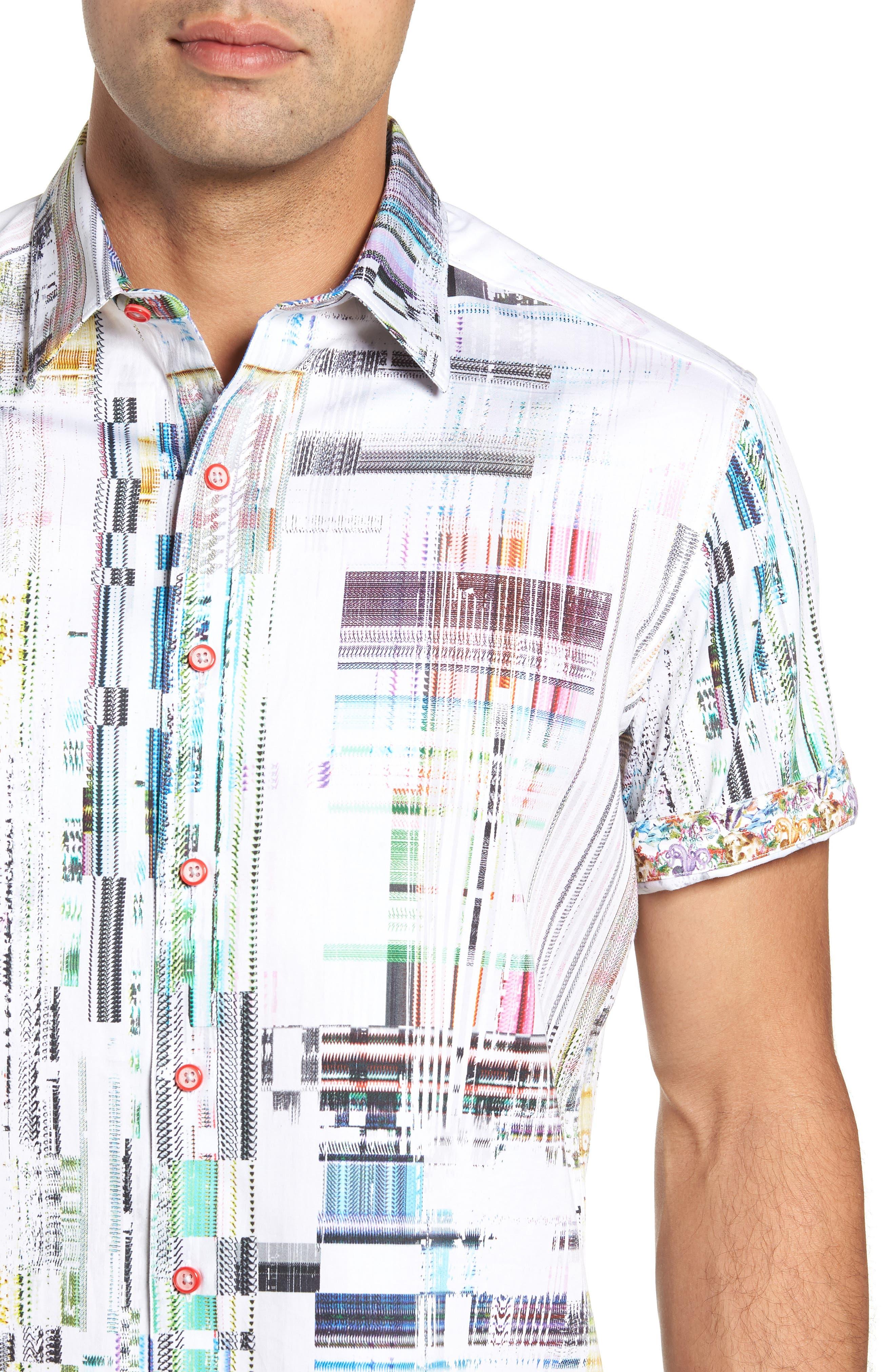 Paracels Classic Fit Sport Shirt,                             Alternate thumbnail 2, color,                             MULTI