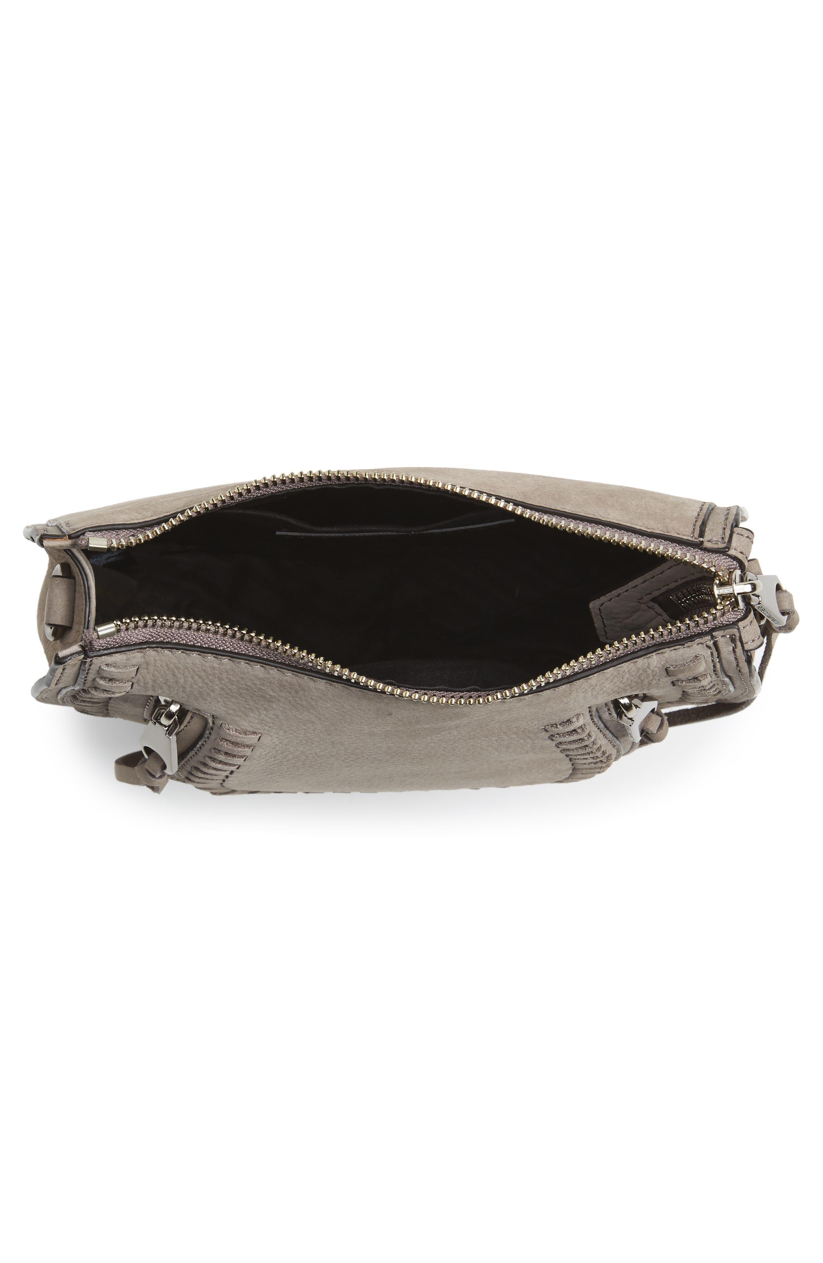 Mini Vanity Saddle Bag,                             Alternate thumbnail 4, color,                             020