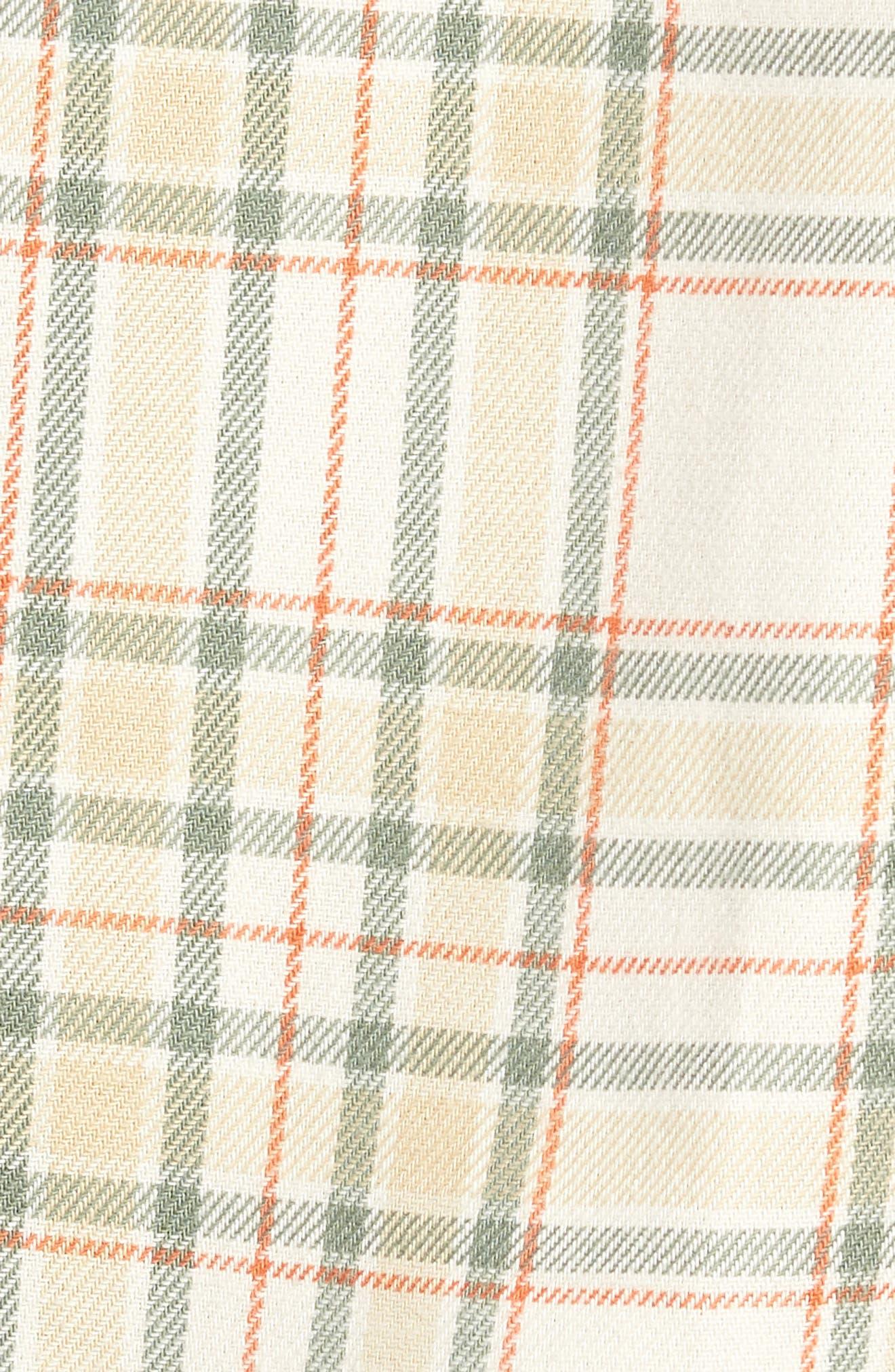 PUMA,                             x Big Sean Check Shirt,                             Alternate thumbnail 5, color,                             100