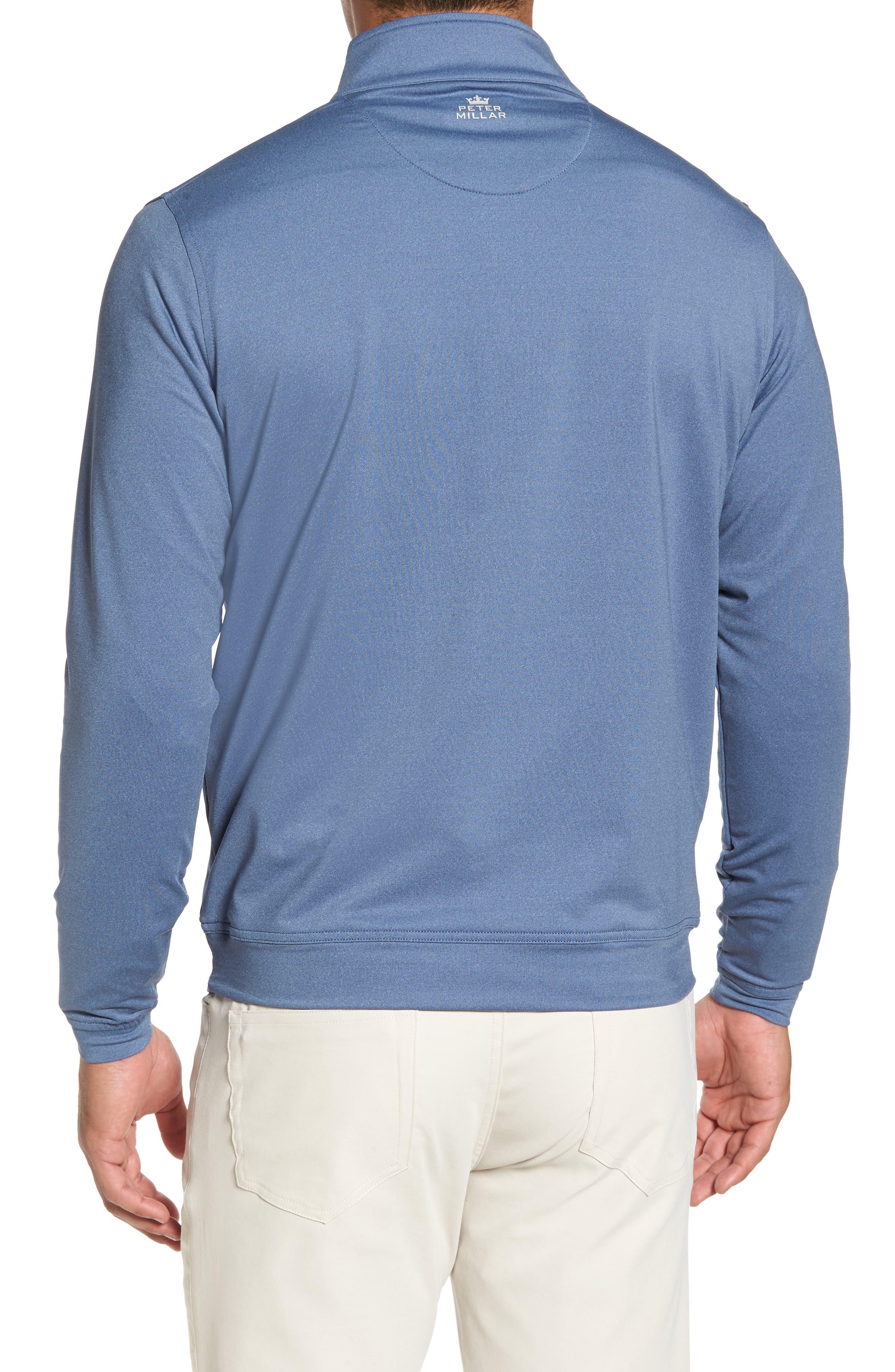 Perth Quarter Zip Stretch Pullover,                             Alternate thumbnail 7, color,